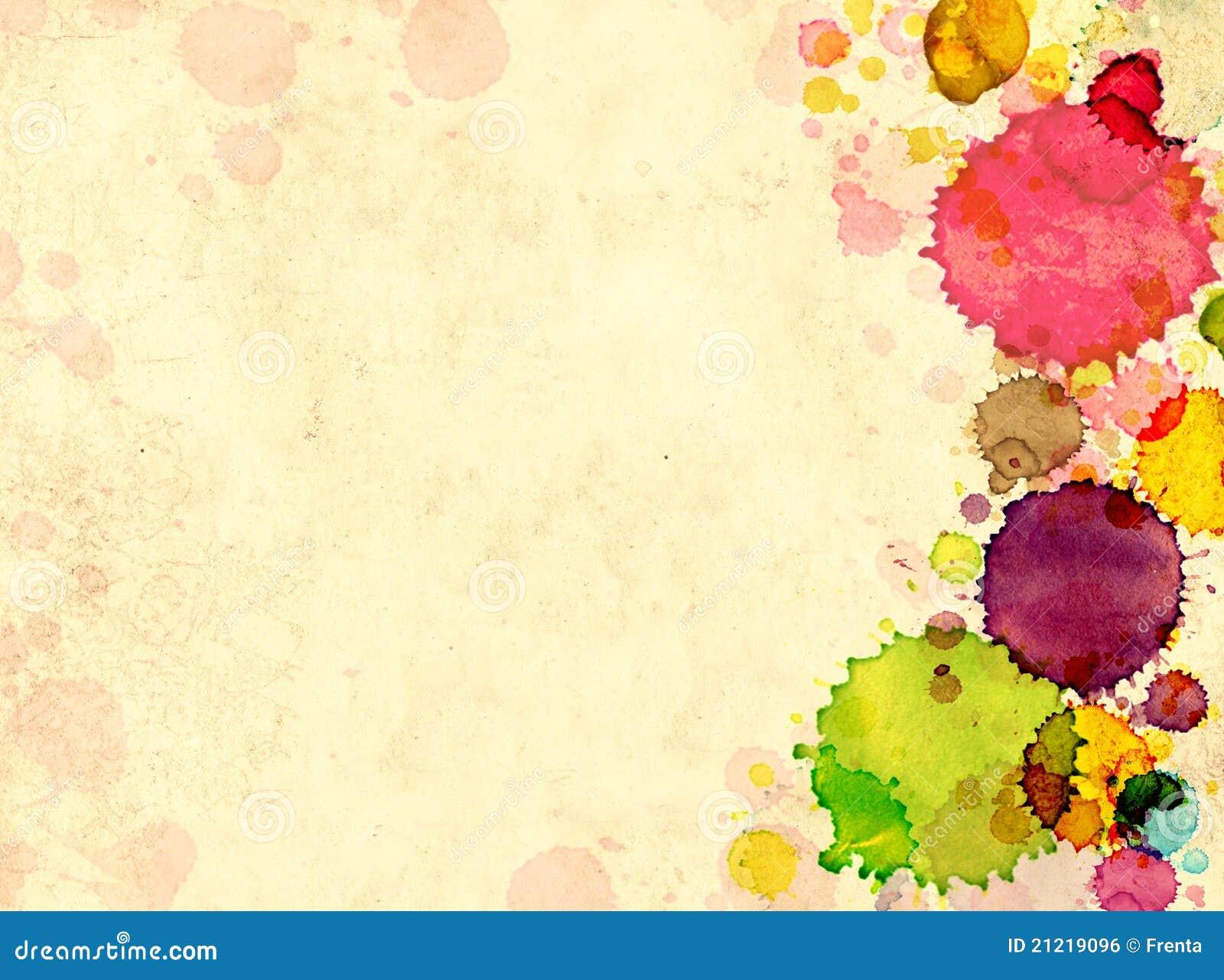 Vieux papier de texture avec des souillures de peinture - Peinture avec effet texture ...