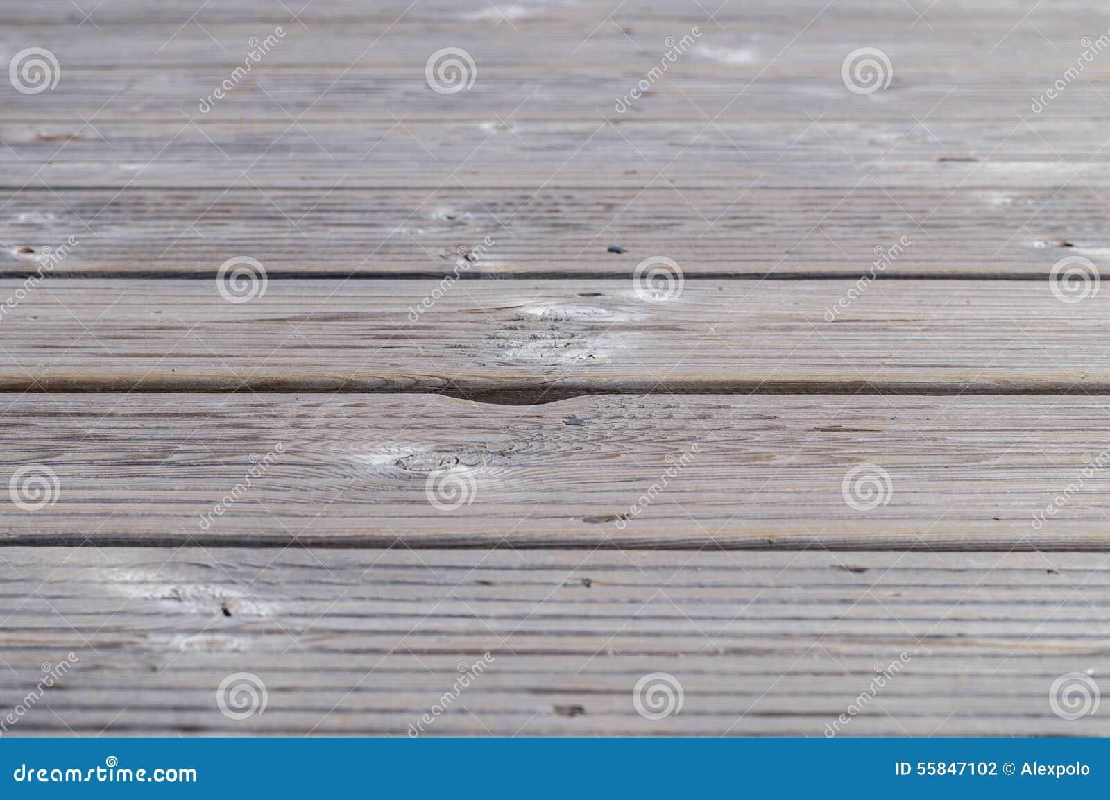 Vieux plancher en bois gris de planches photo stock for Planche bois gris