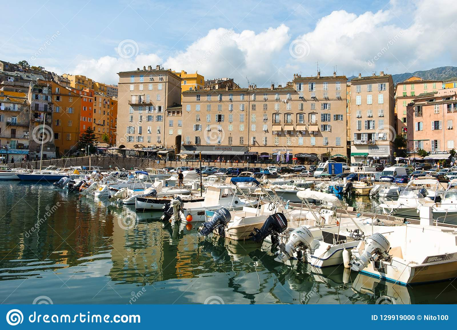 Vieux Port The Old Port In Bastia France Editorial Image Image