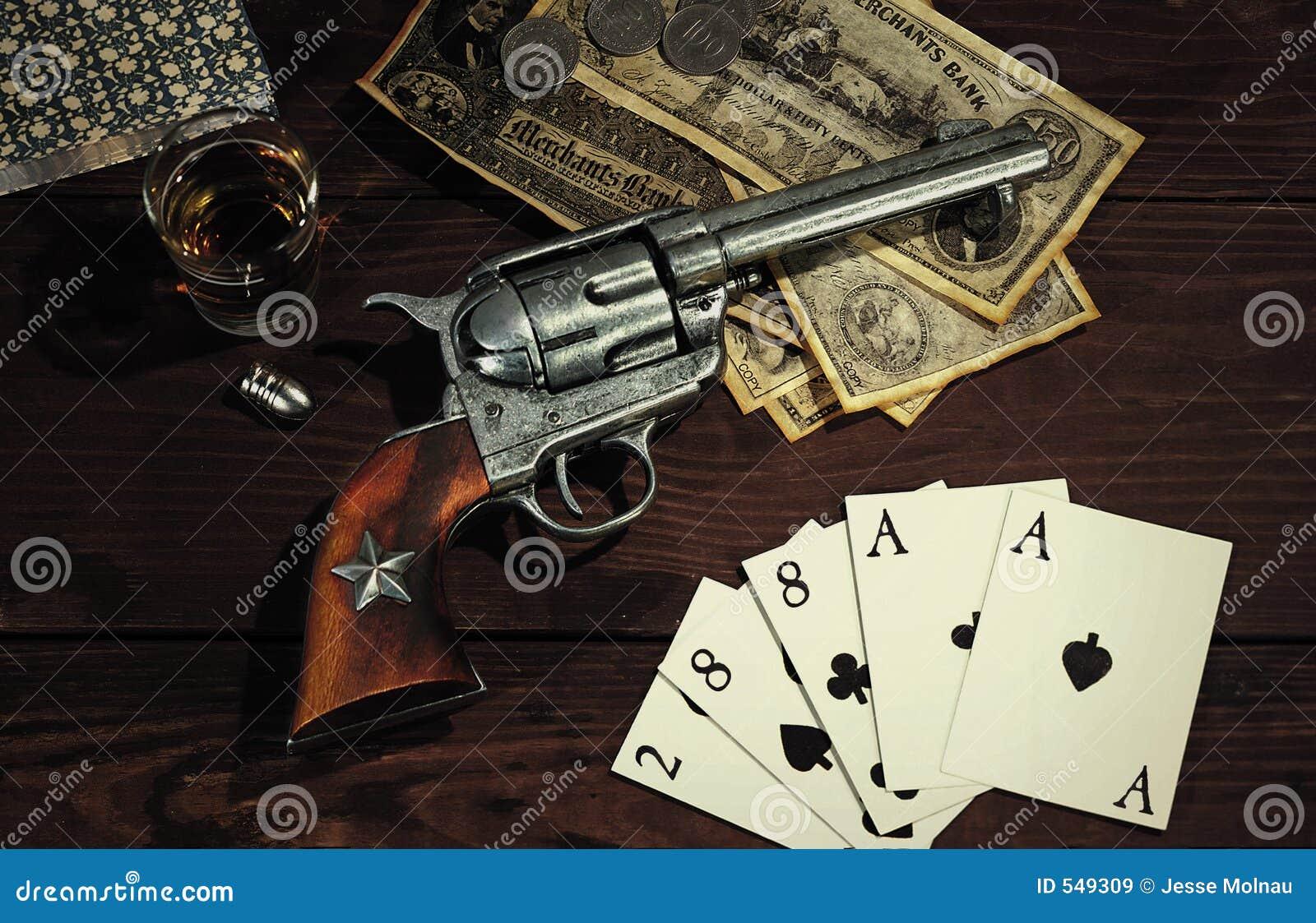Vieux revolver occidental