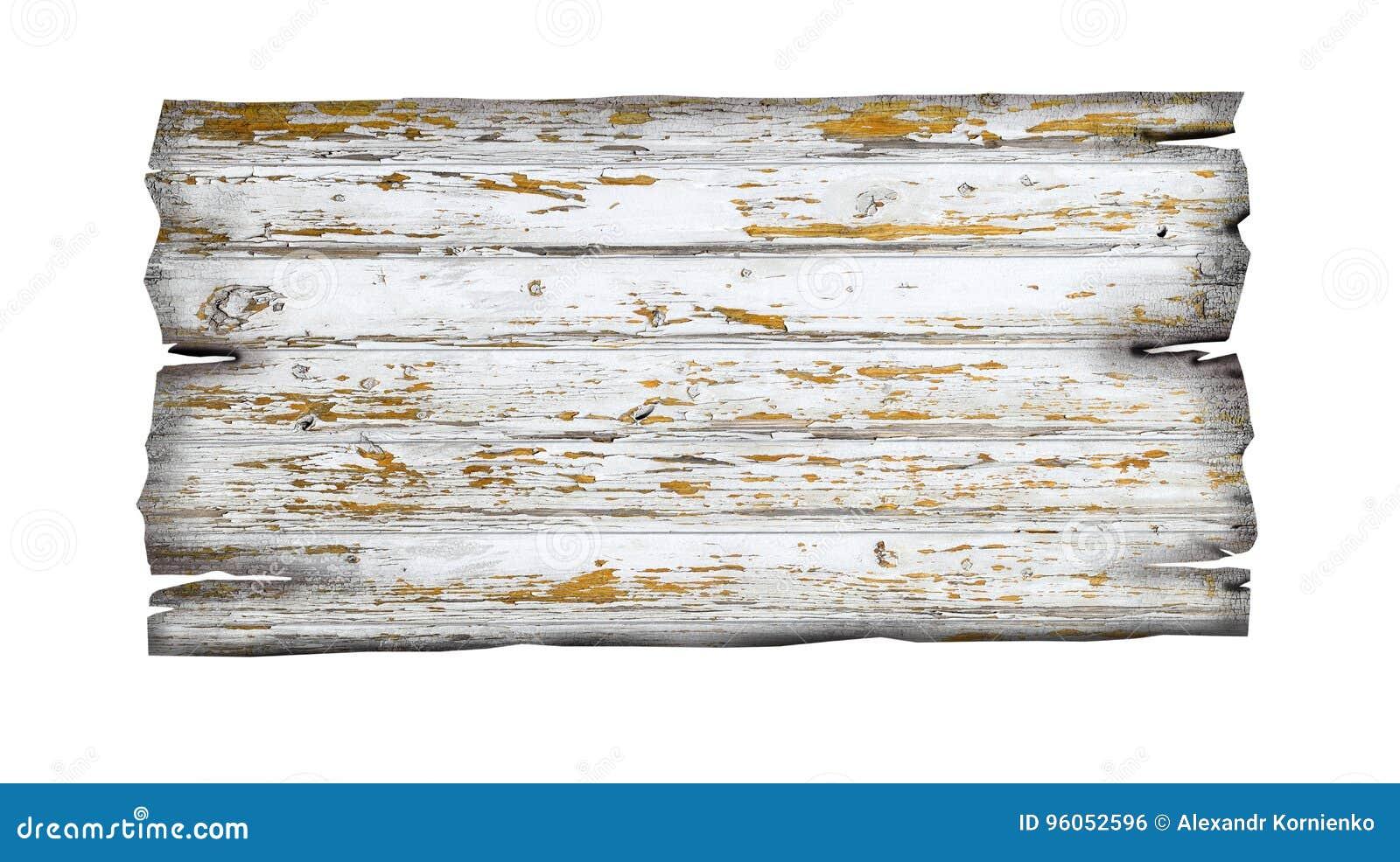 Vieux signe en bois