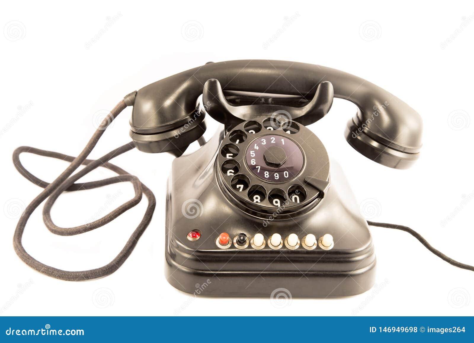 Vieux t?l?phone