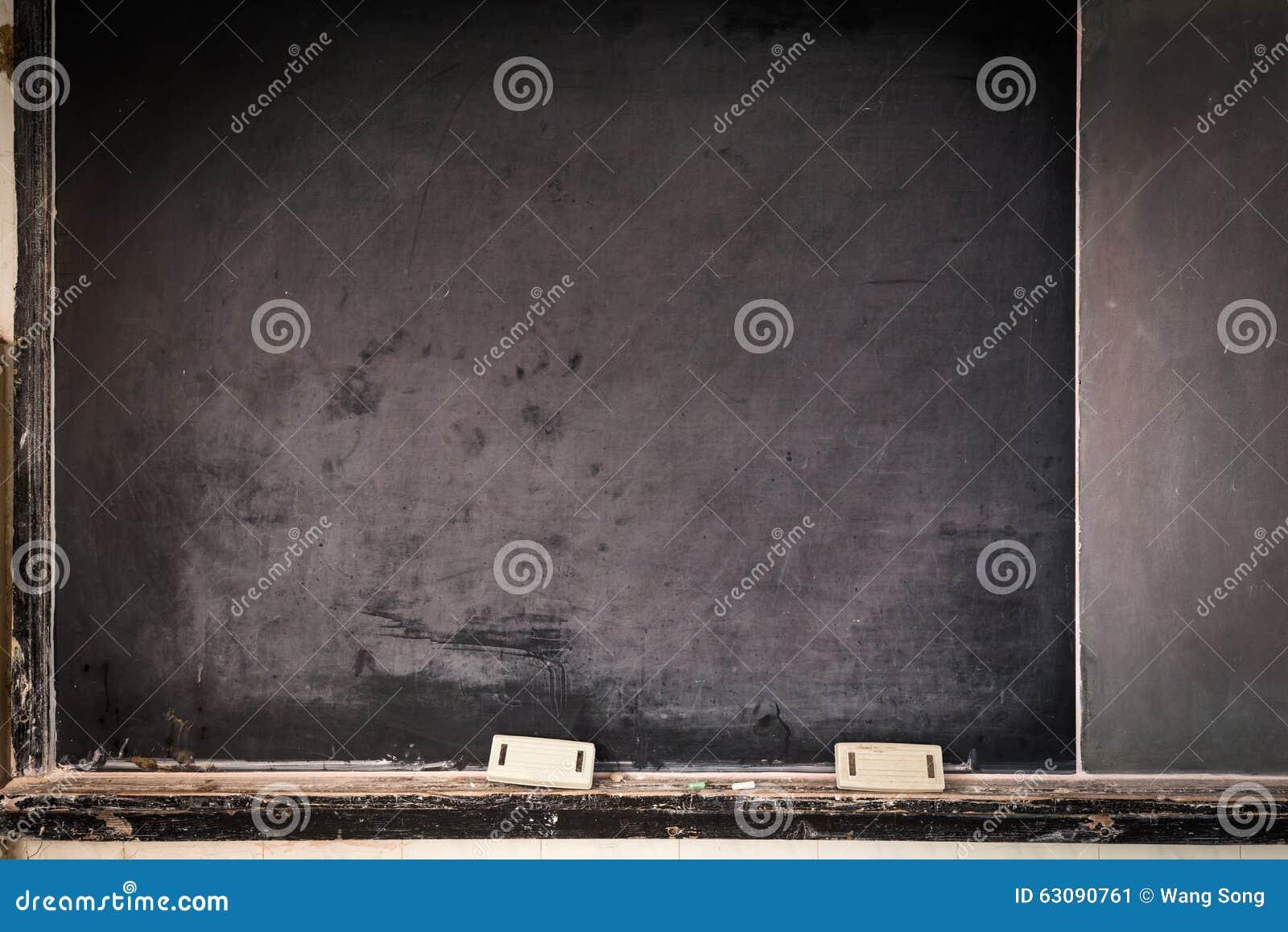 Download Vieux tableau noir image stock. Image du classroom, espace - 63090761