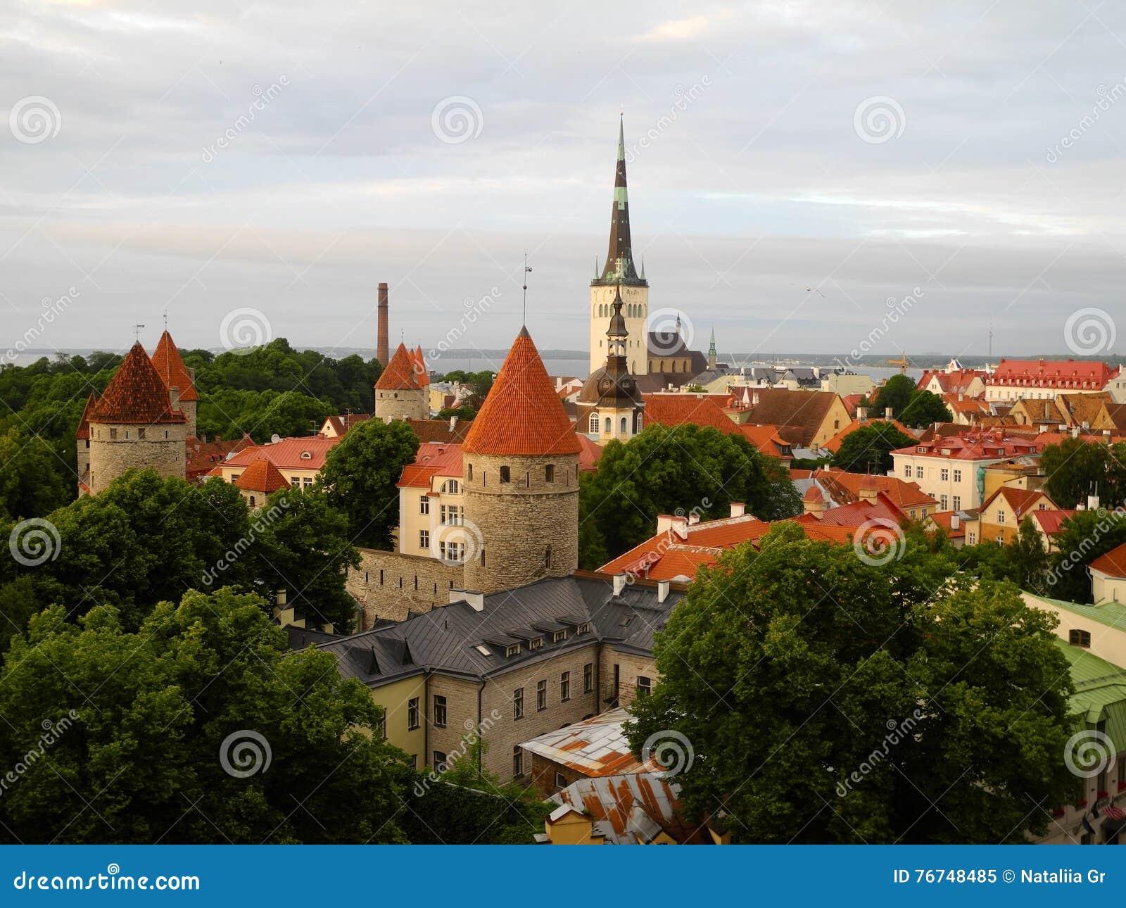 Vieux Tallinn, Estonie