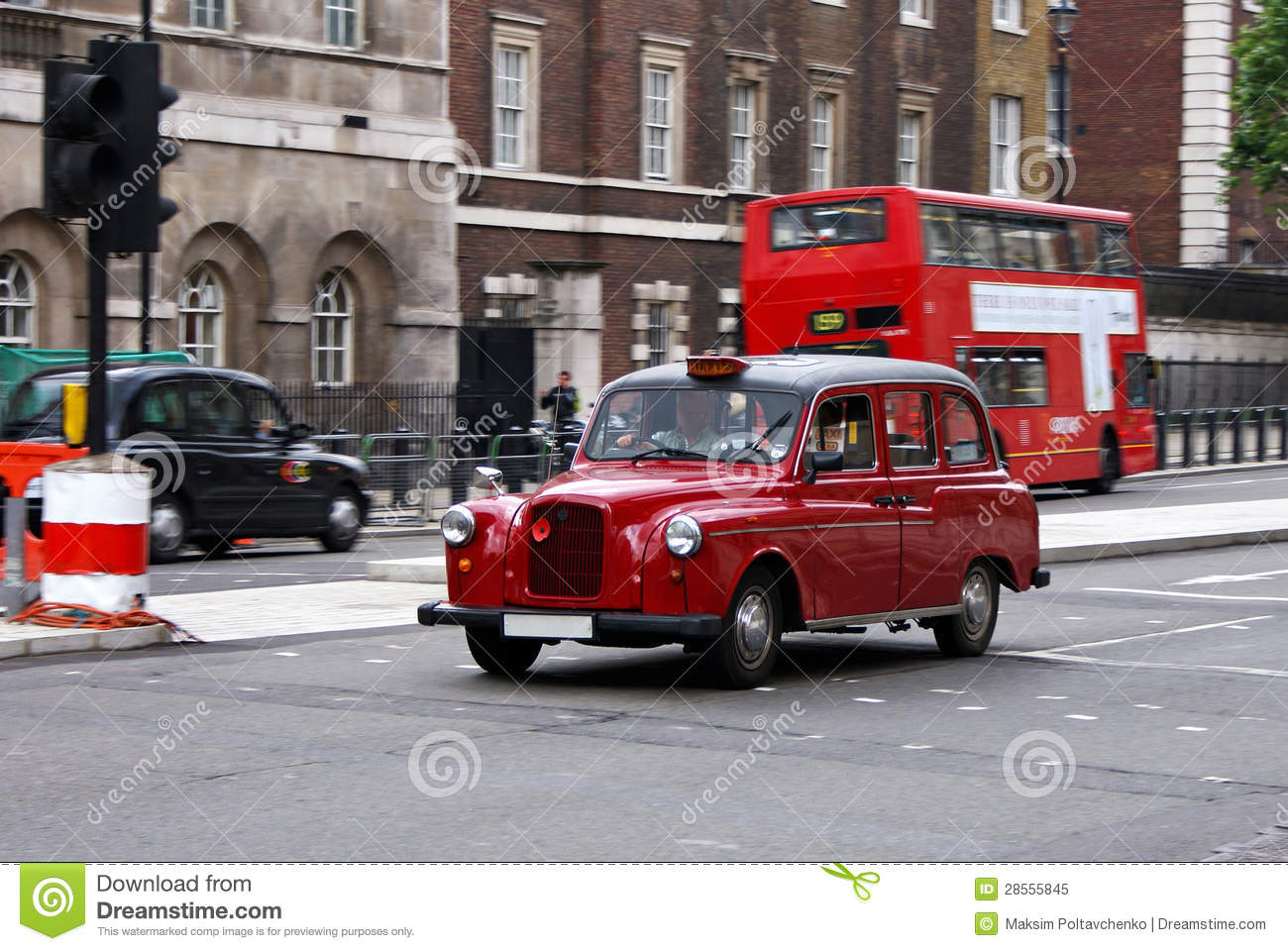 vieux taxi de londres image stock image du londres ville 28555845. Black Bedroom Furniture Sets. Home Design Ideas