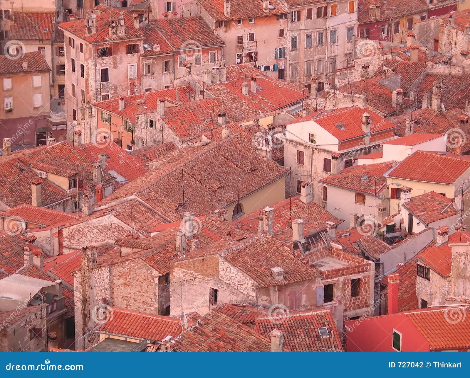 Vieux toits de ville