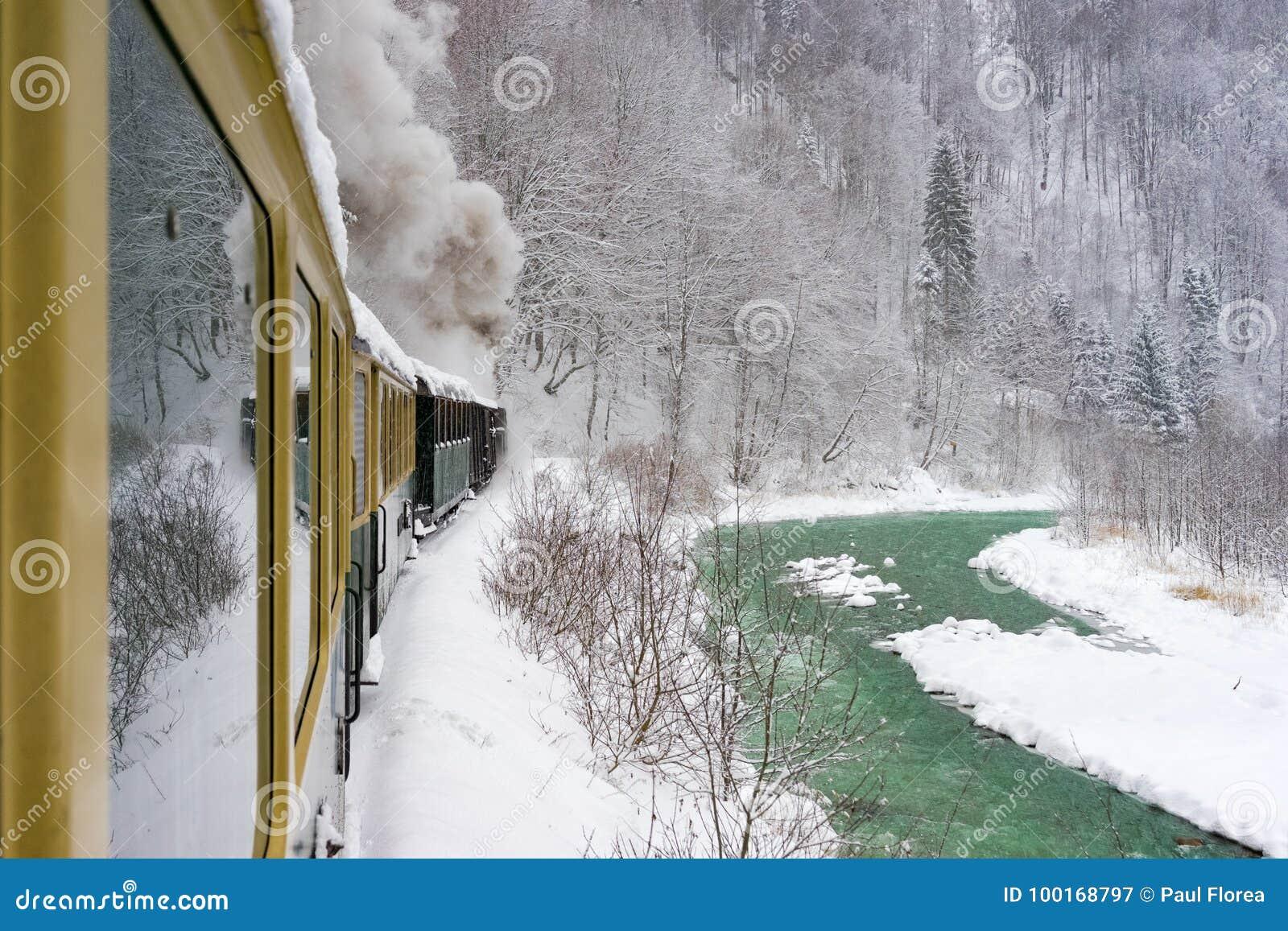 Vieux train de vapeur