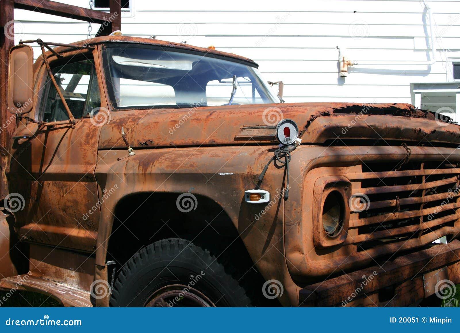 Vieux Truck2 rouillé