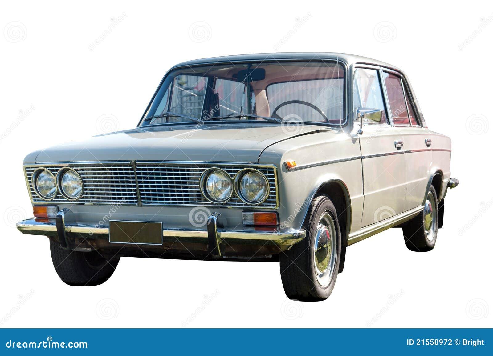 Vieux véhicule