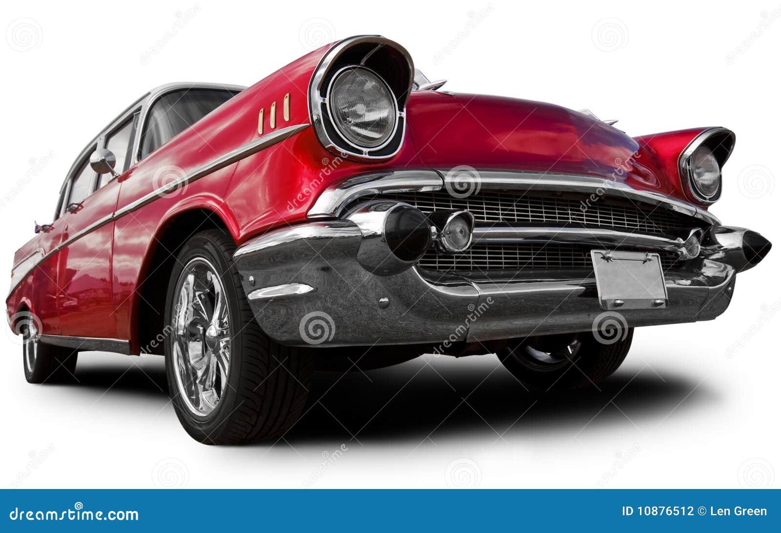 Vieux véhicule américain
