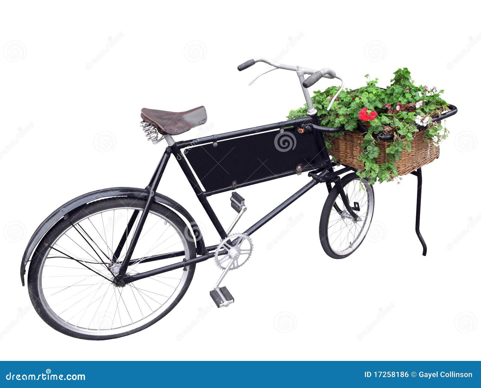 Vieux vélo de la distribution.