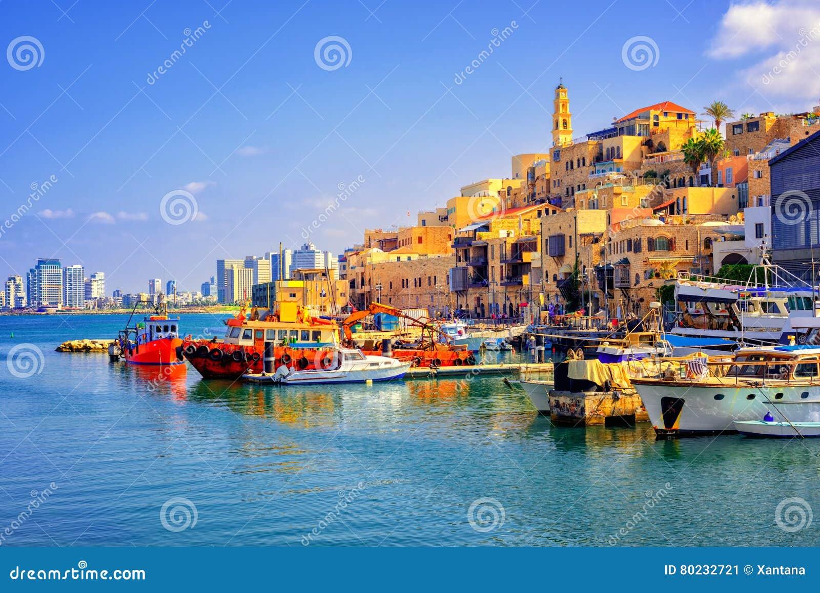 Vieux ville et port ville de Jaffa, Tel Aviv, Israël