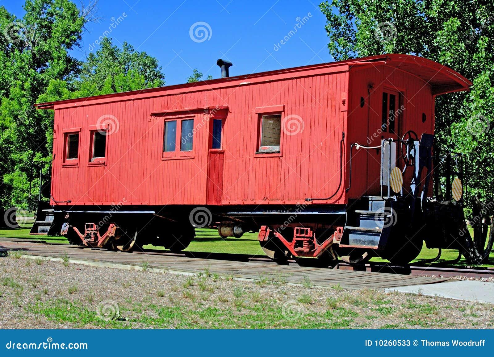 Vieux wagon couvert