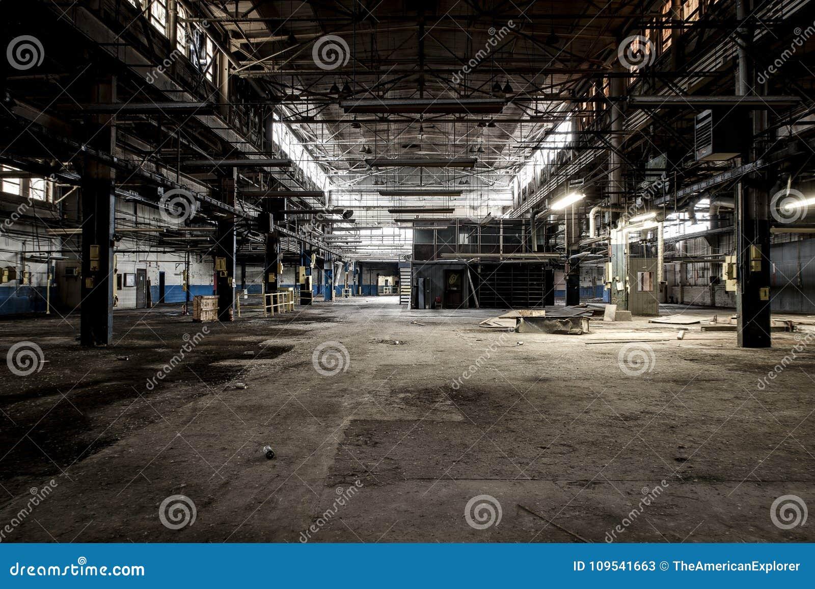 Abandoned Factory - Ferry Cap & Company - Cleveland, Ohio