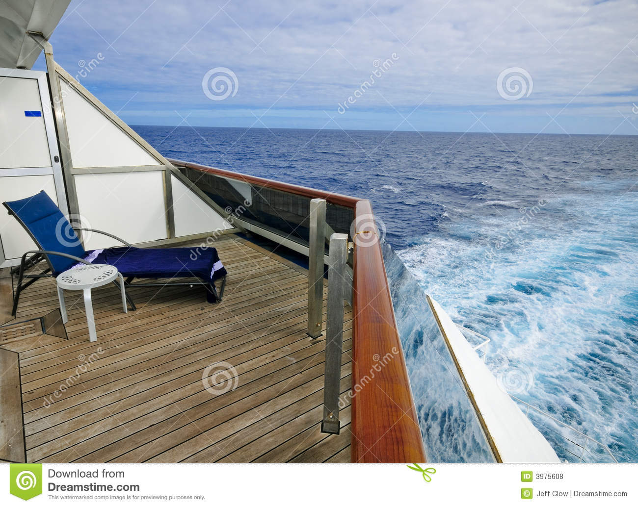 View from the balcony royalty free stock photos image for Cruise ship balcony view