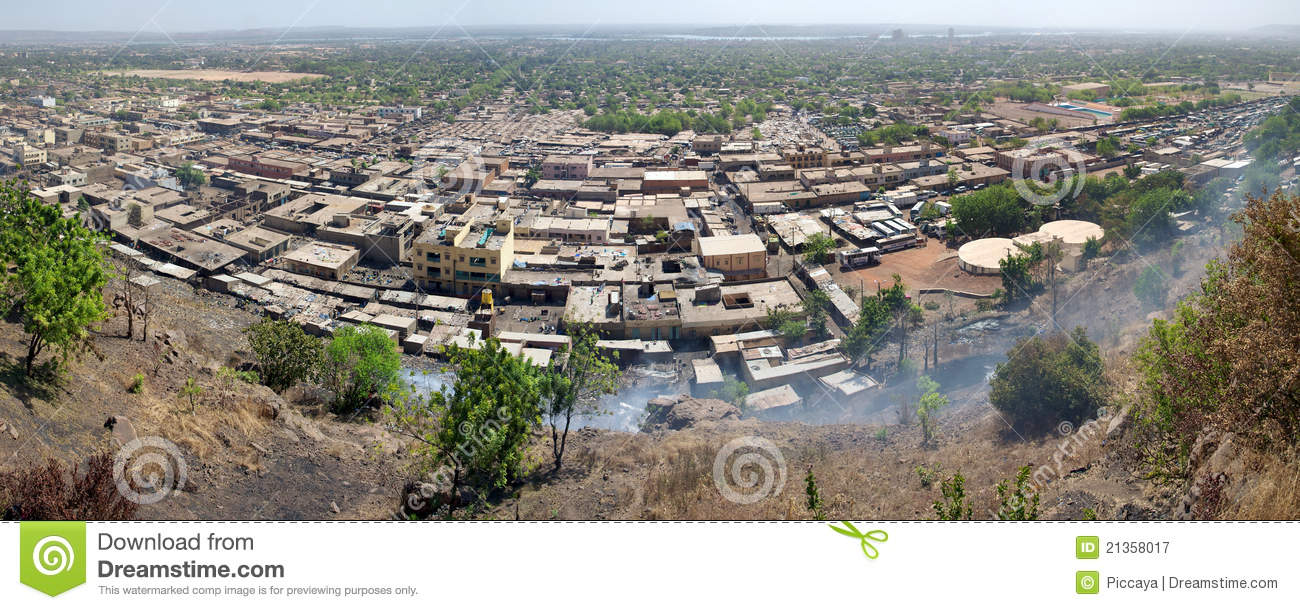 View Of Bamako The City Royalty Free Stock Photography