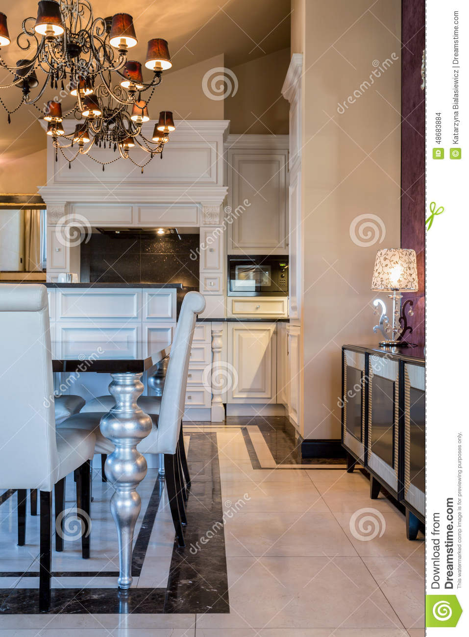 View of baroque style space stock photo image of bright royalty free stock photo dailygadgetfo Image collections