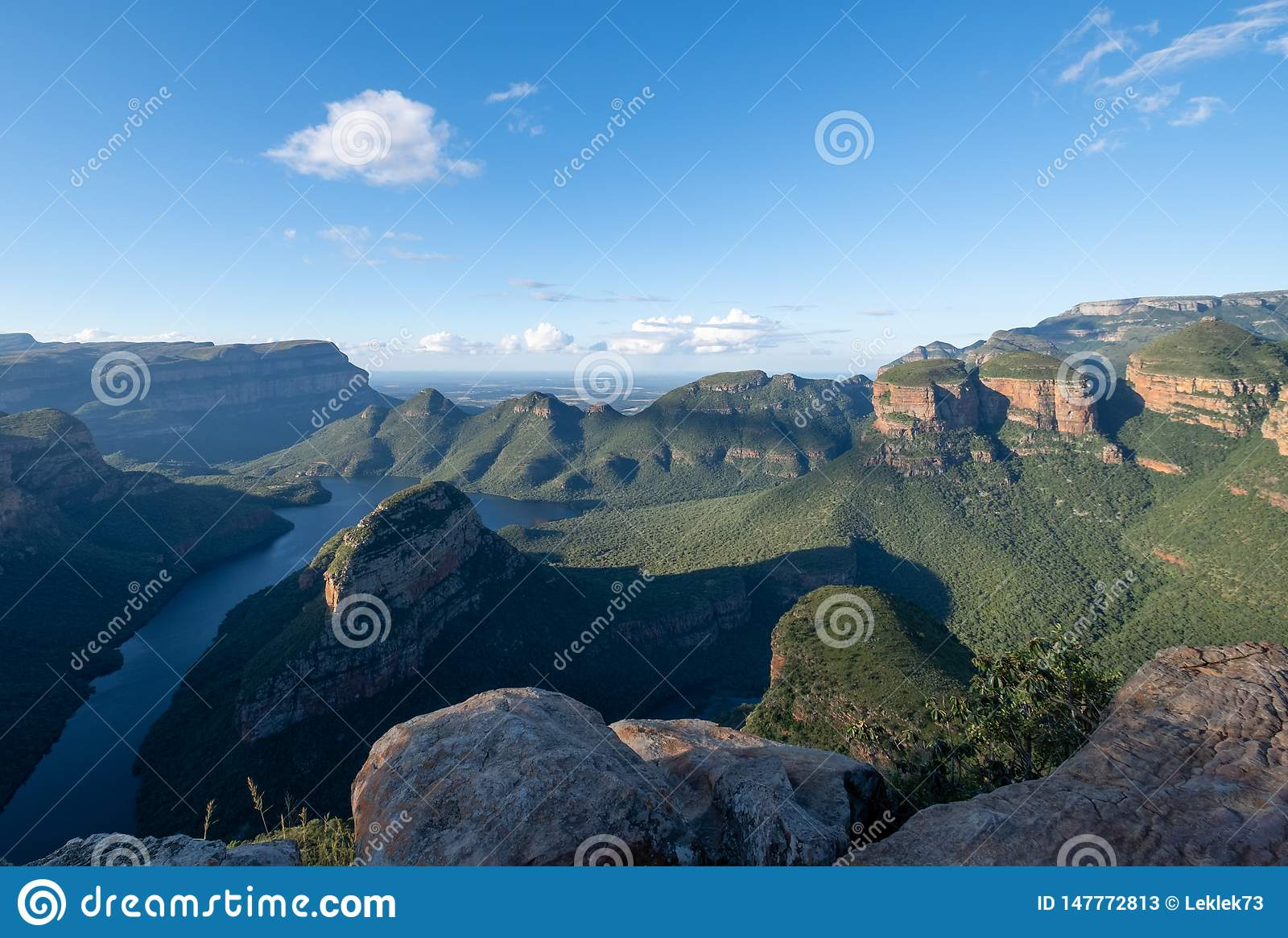 The Blyde River Canyon on the Panorama Route, Mpumalanga, South Africa