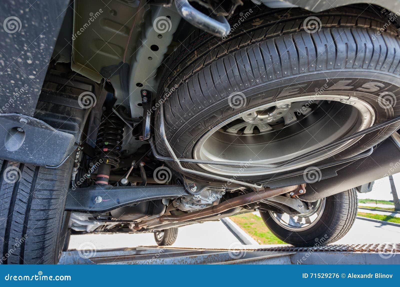 car bottom view outdo