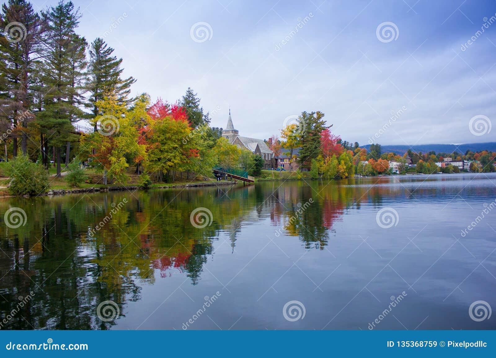 Fall colors in North America