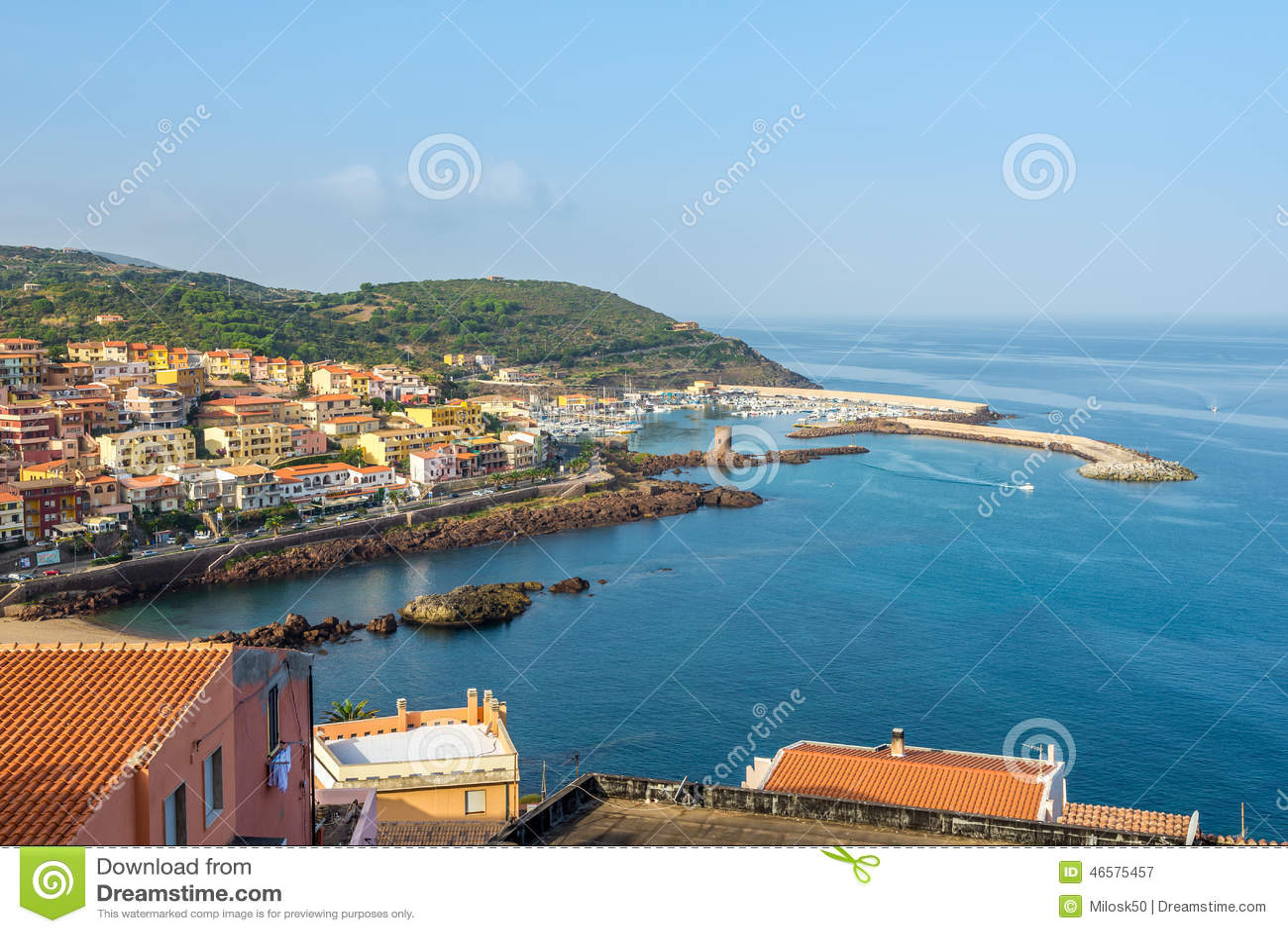 Castelsardo Italy  City pictures : CASTELSARDO,ITALY SEPTEMBER 21,2014 View at the Castelsardo port ...