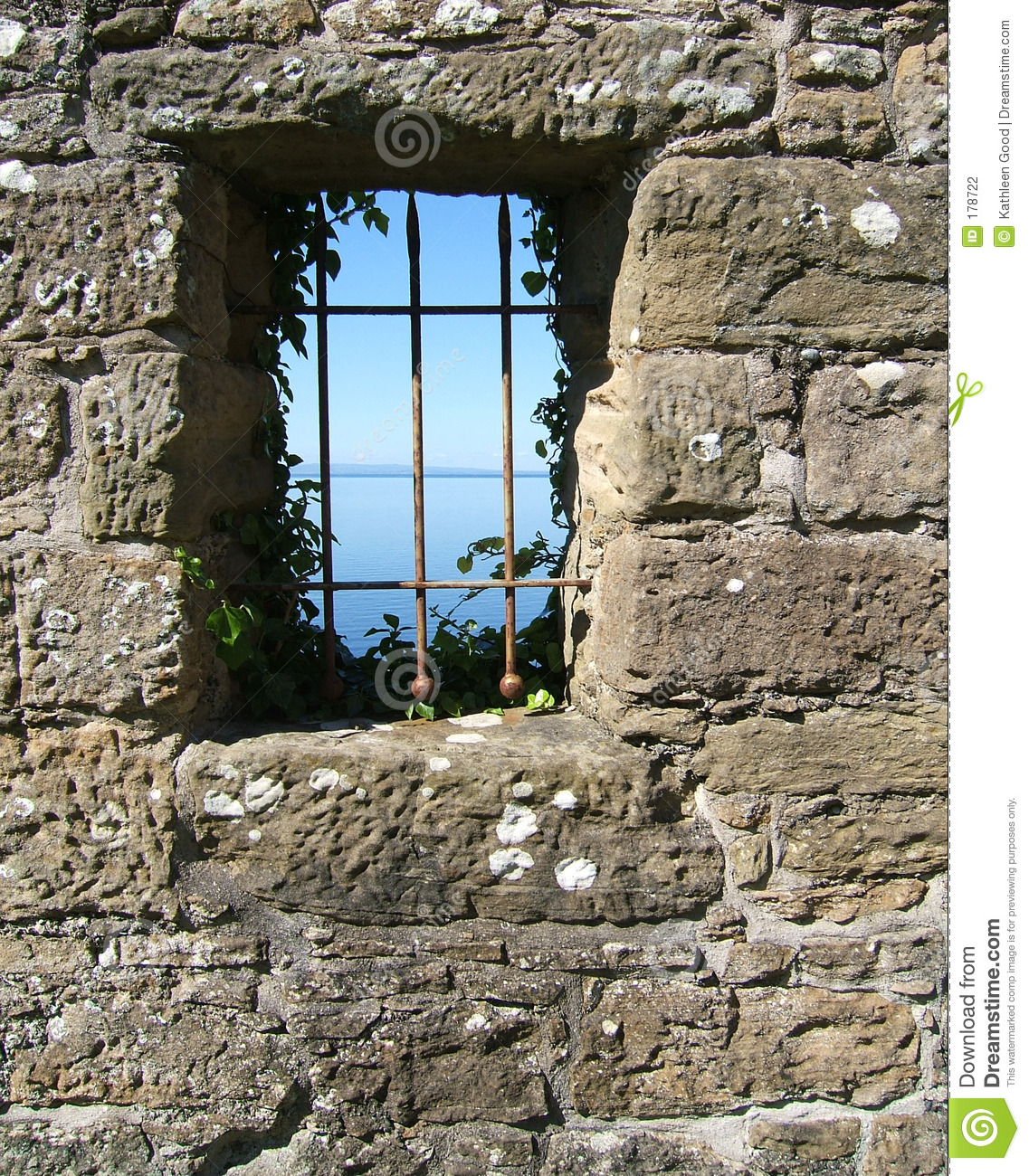 View from a castle window