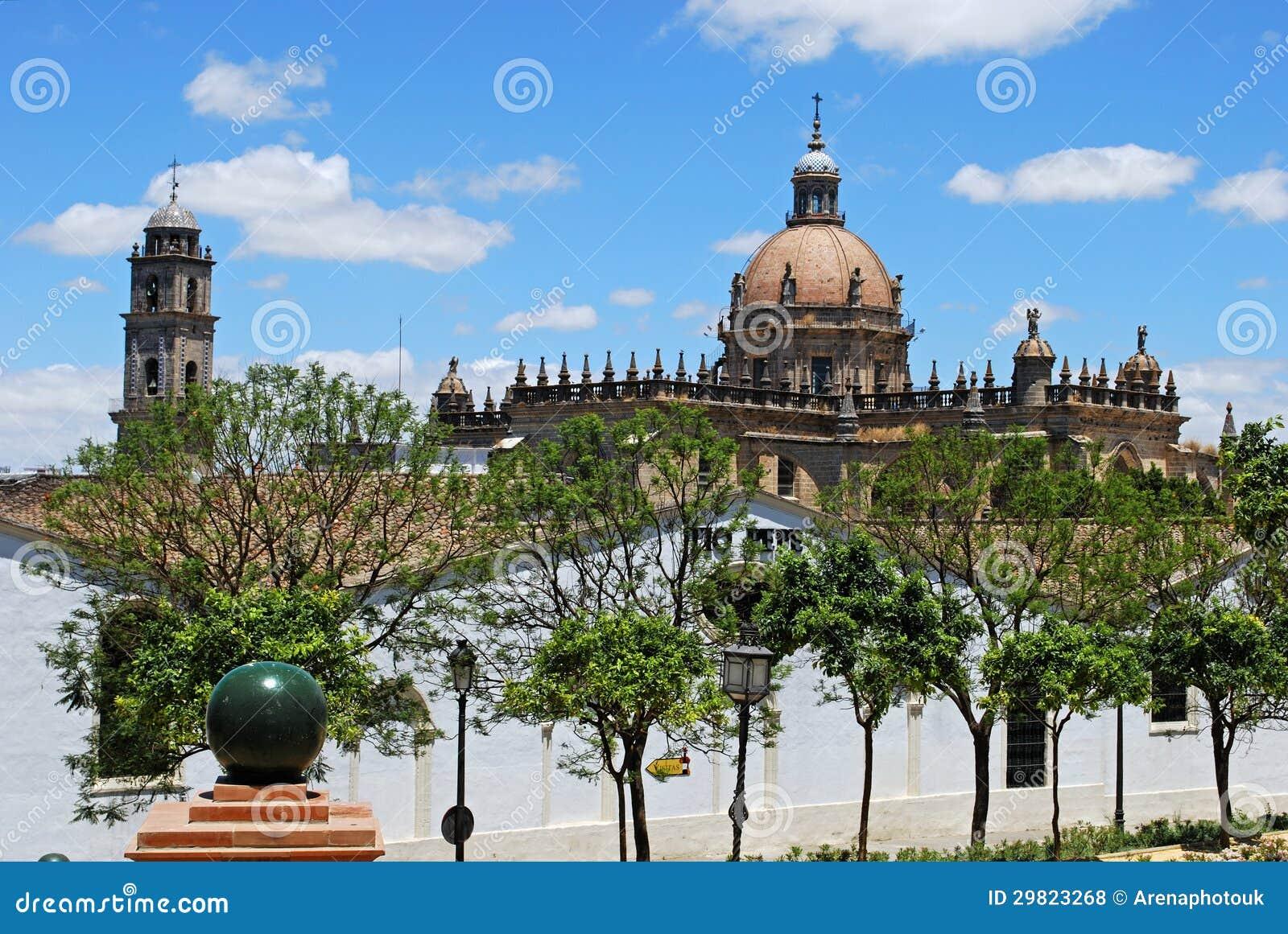 Jerez de la Frontera Spain  City new picture : Cathedral, Jerez De La Frontera, Spain. Royalty Free Stock Photos ...