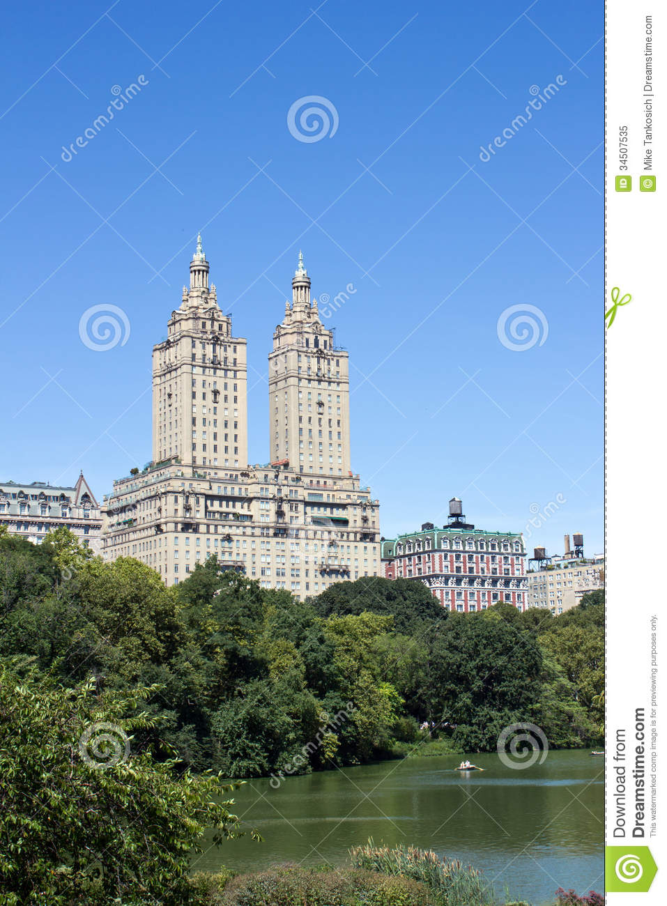 View from central park royalty free stock photo image for Apartments near central park