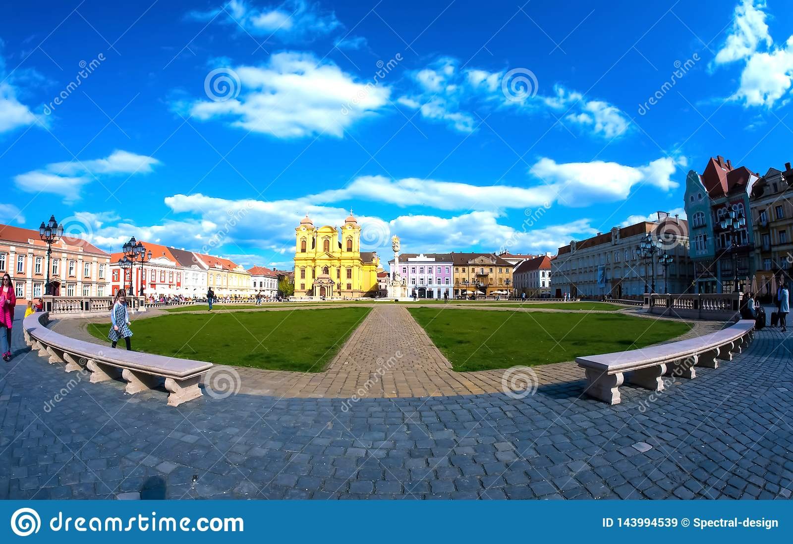 View on the centre of Timisoara