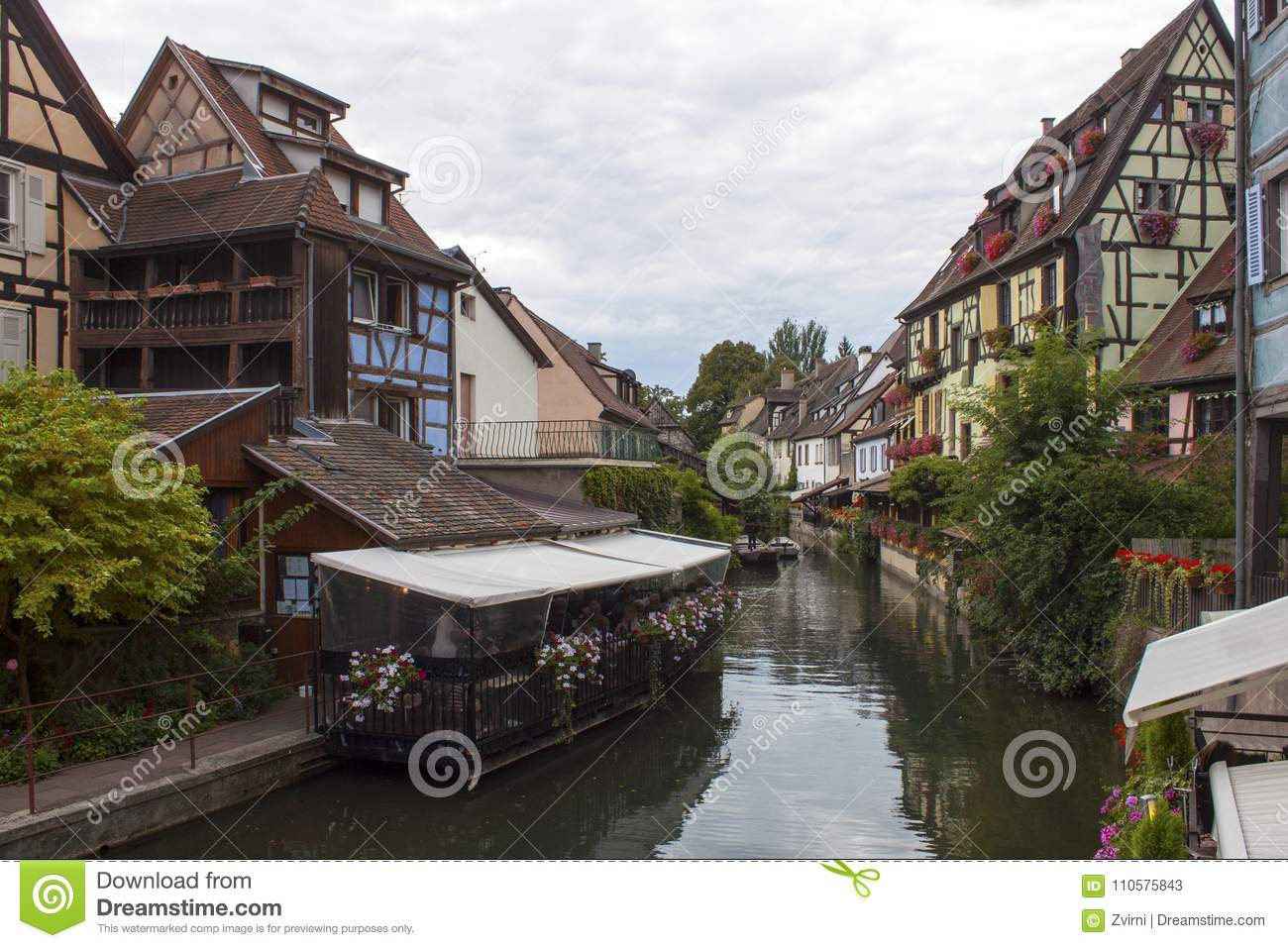 Channel in Colmar France