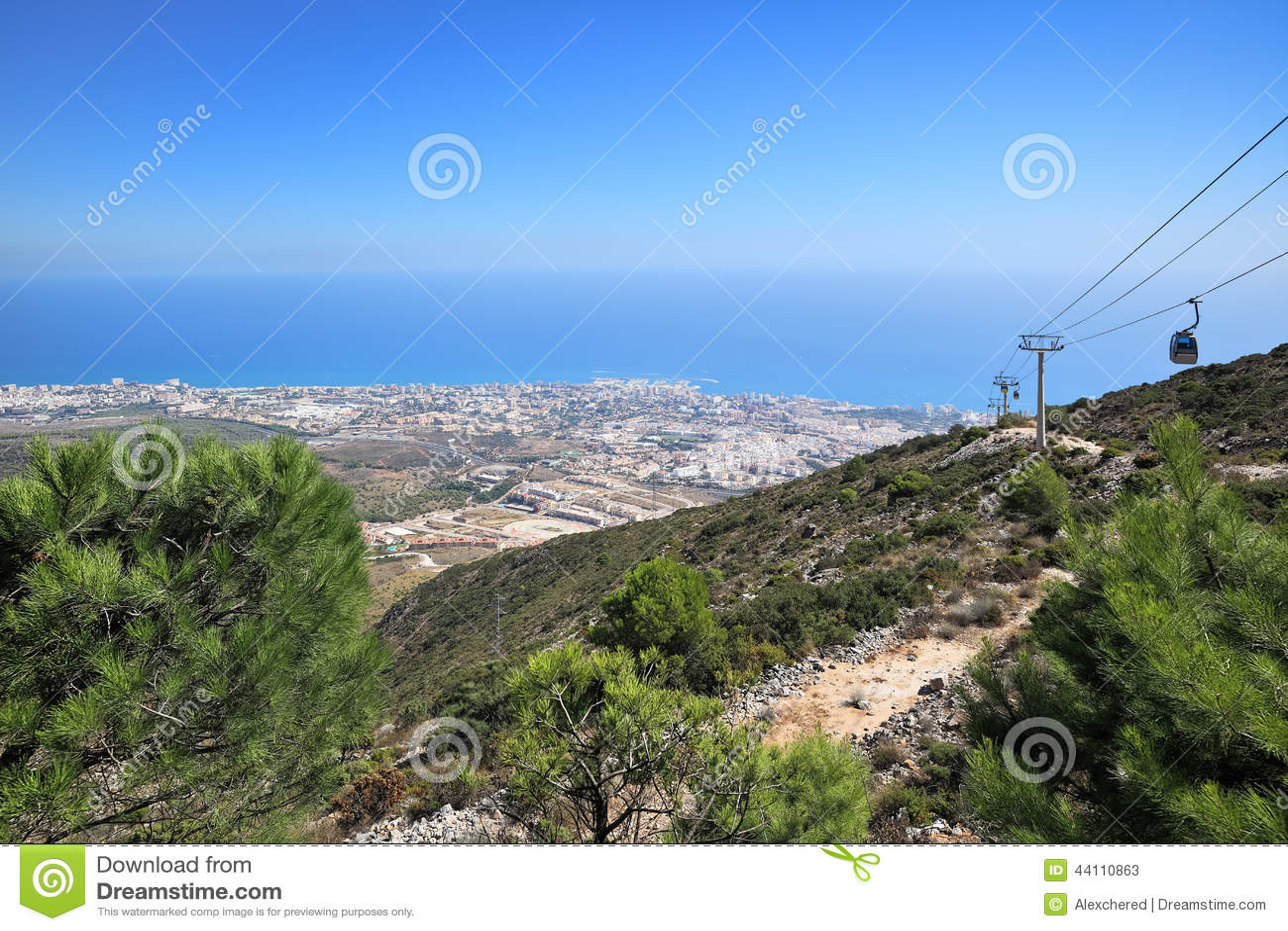 Mediterranean Coastline Royalty-Free Stock Image ...