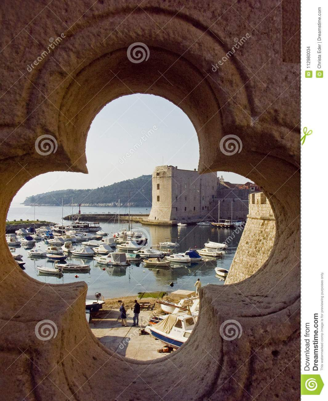 View on the city of Dubrovnik,