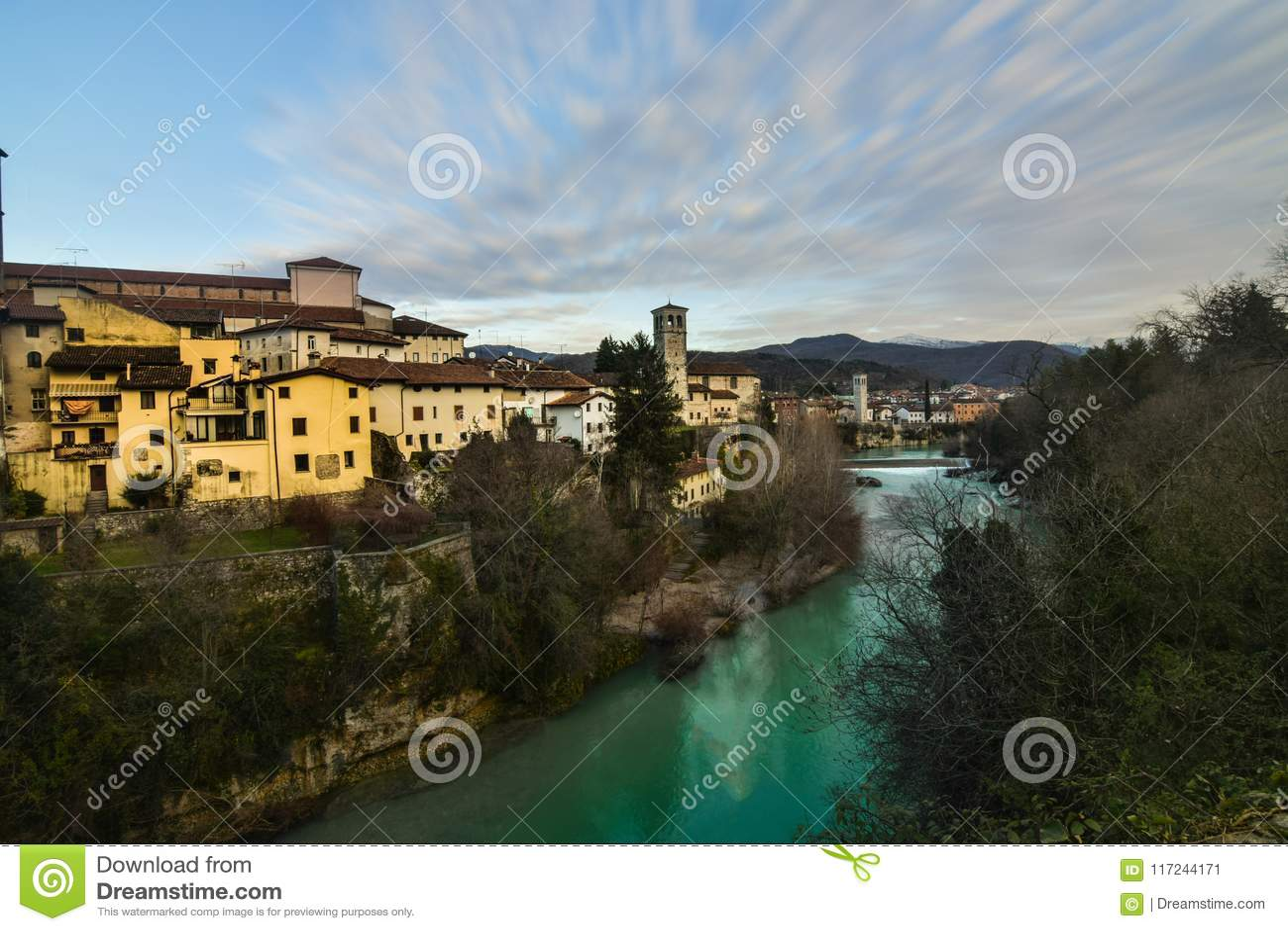 A view of Cividale del Friuli, Italy