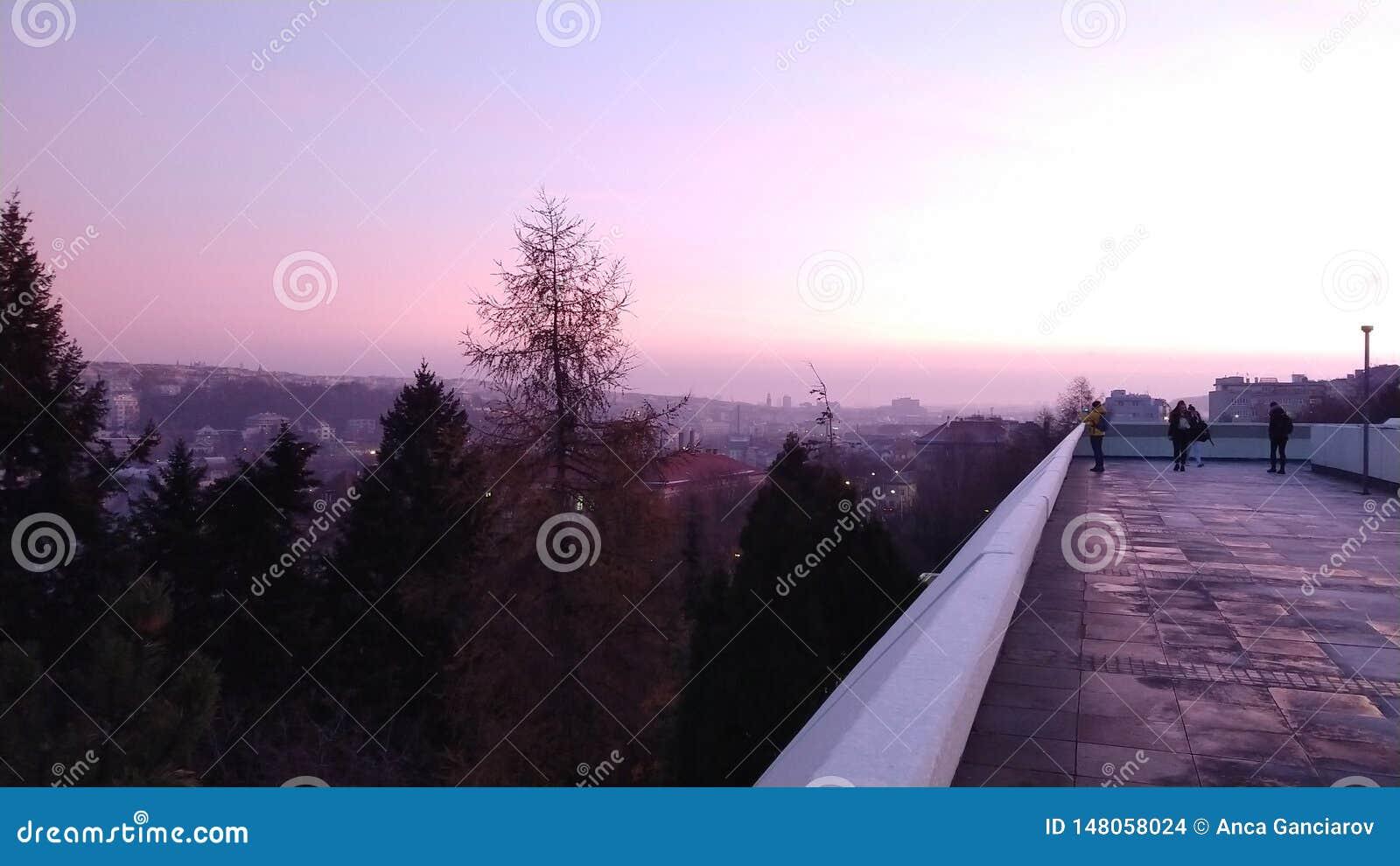 View from Corinthia hotel in Prague, Czechia