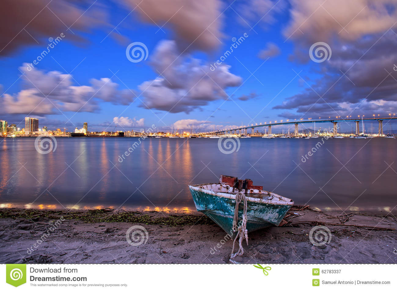 Port Of San Diego California Stock Photo Cartoondealer