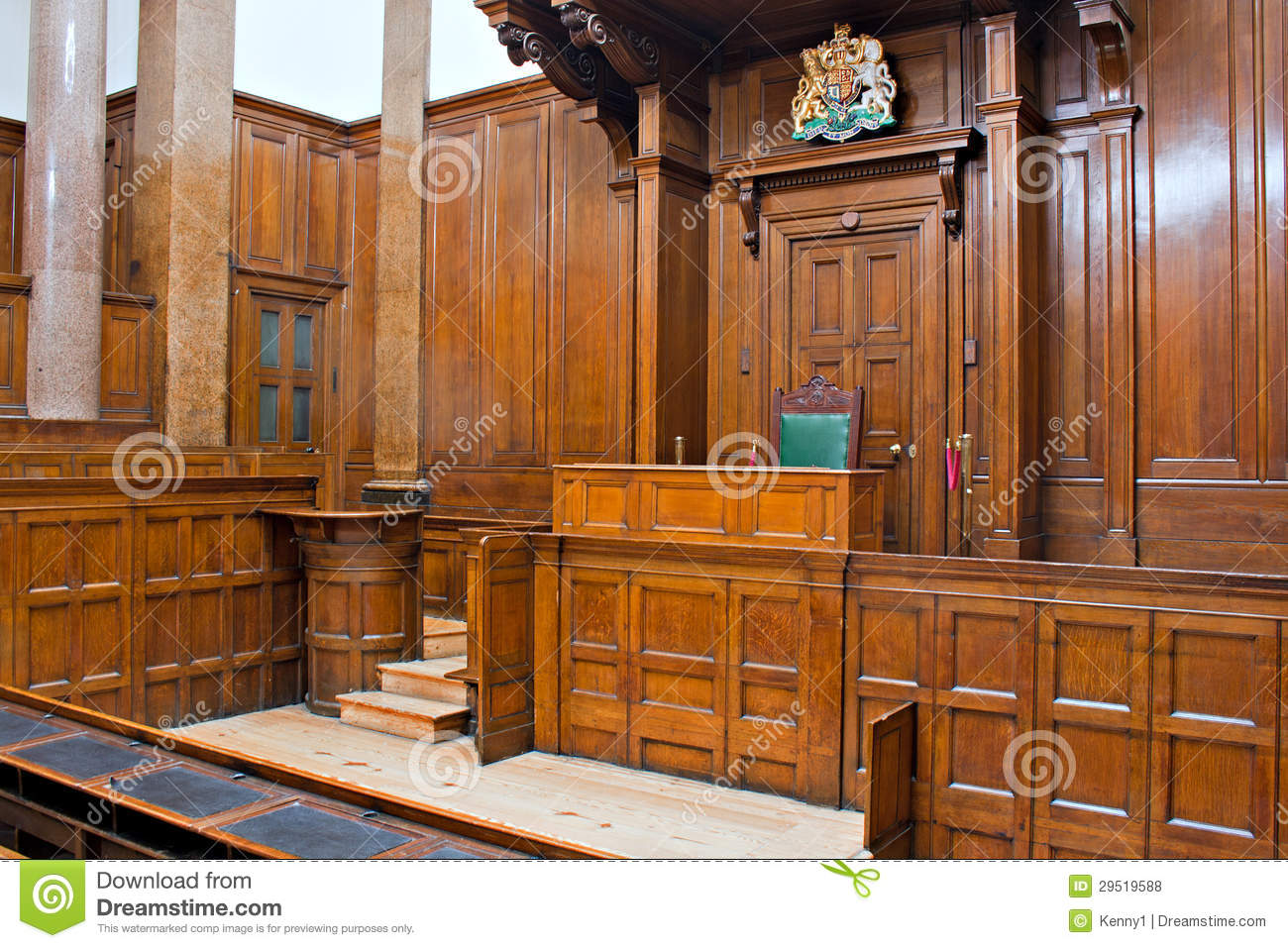 View Crown Court Room Inside St Georges Hall L Royalty Free Stock s Image