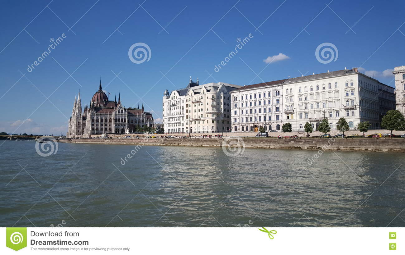 View from the Danube river