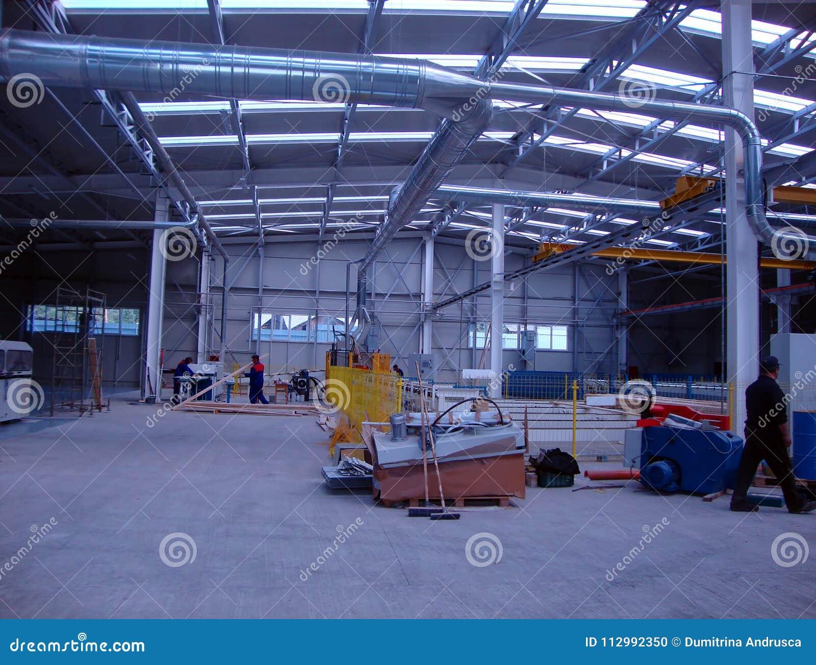 Factory production beams