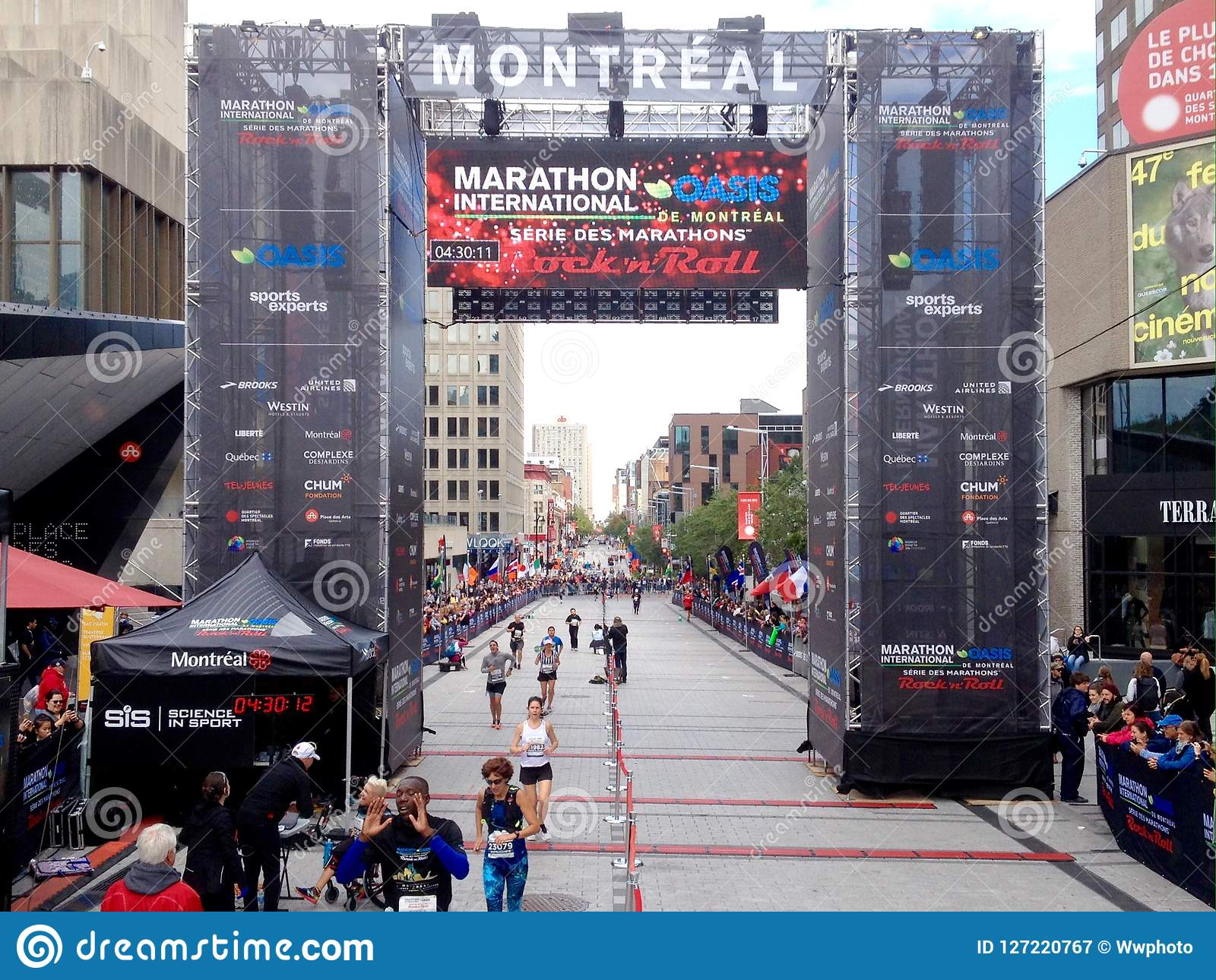 Montreal marathon