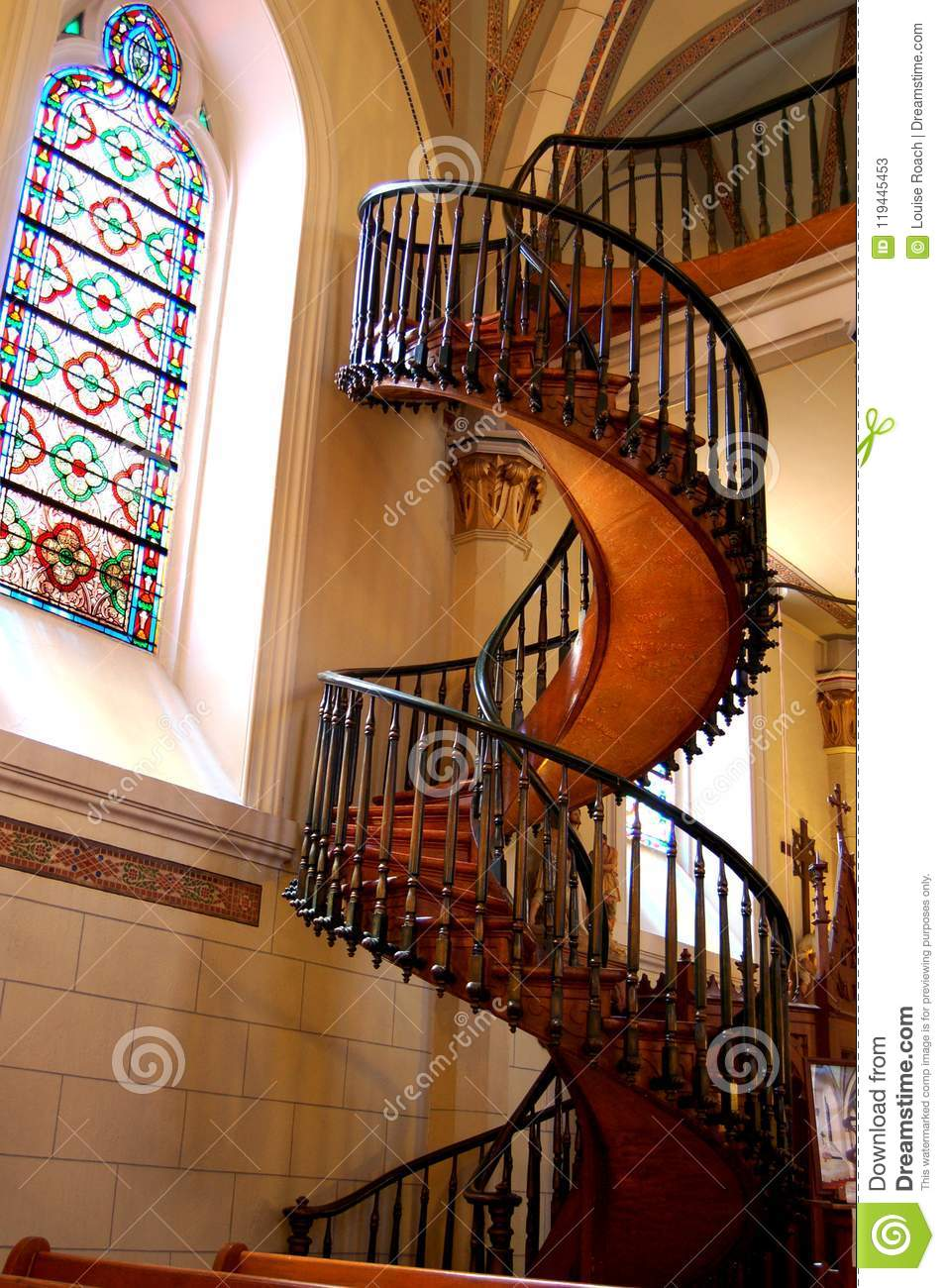 107 Loretto Chapel Staircase Photos Free Royalty Free Stock Photos From Dreamstime