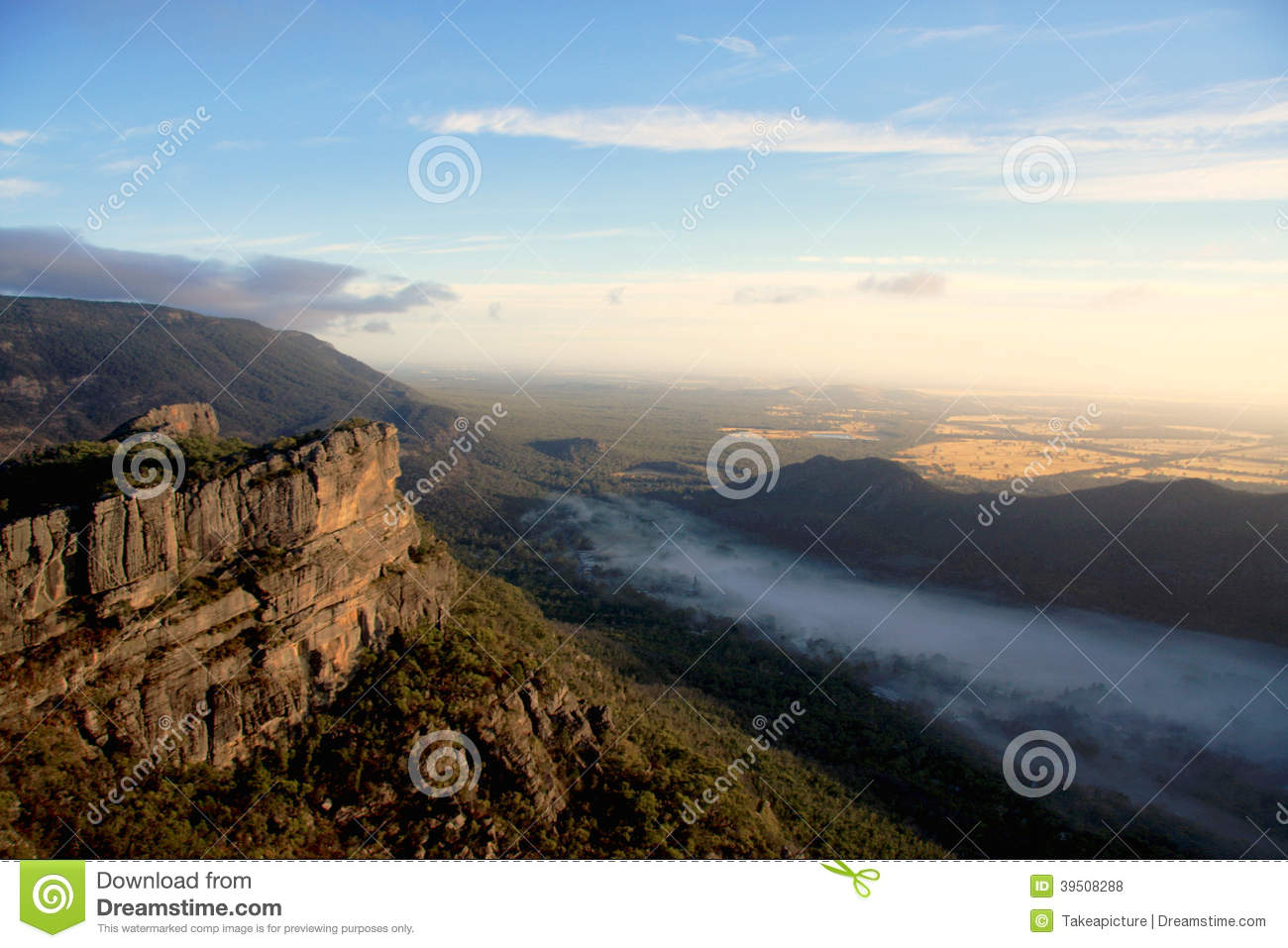 A view of the Grampians