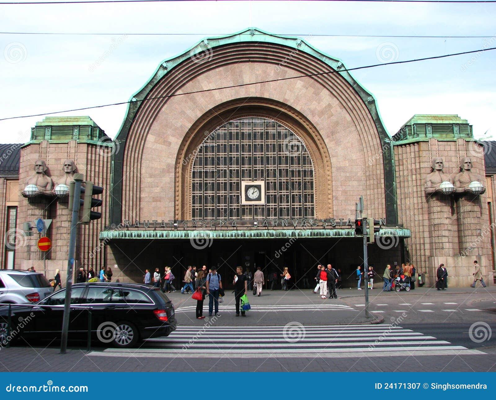 Train Station Helsinki