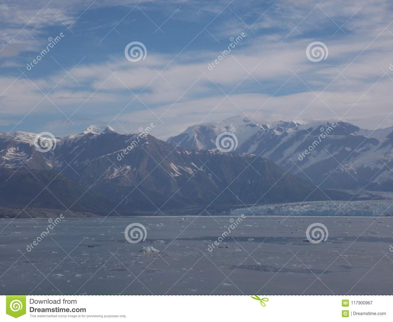 View of Hubbard Glacier