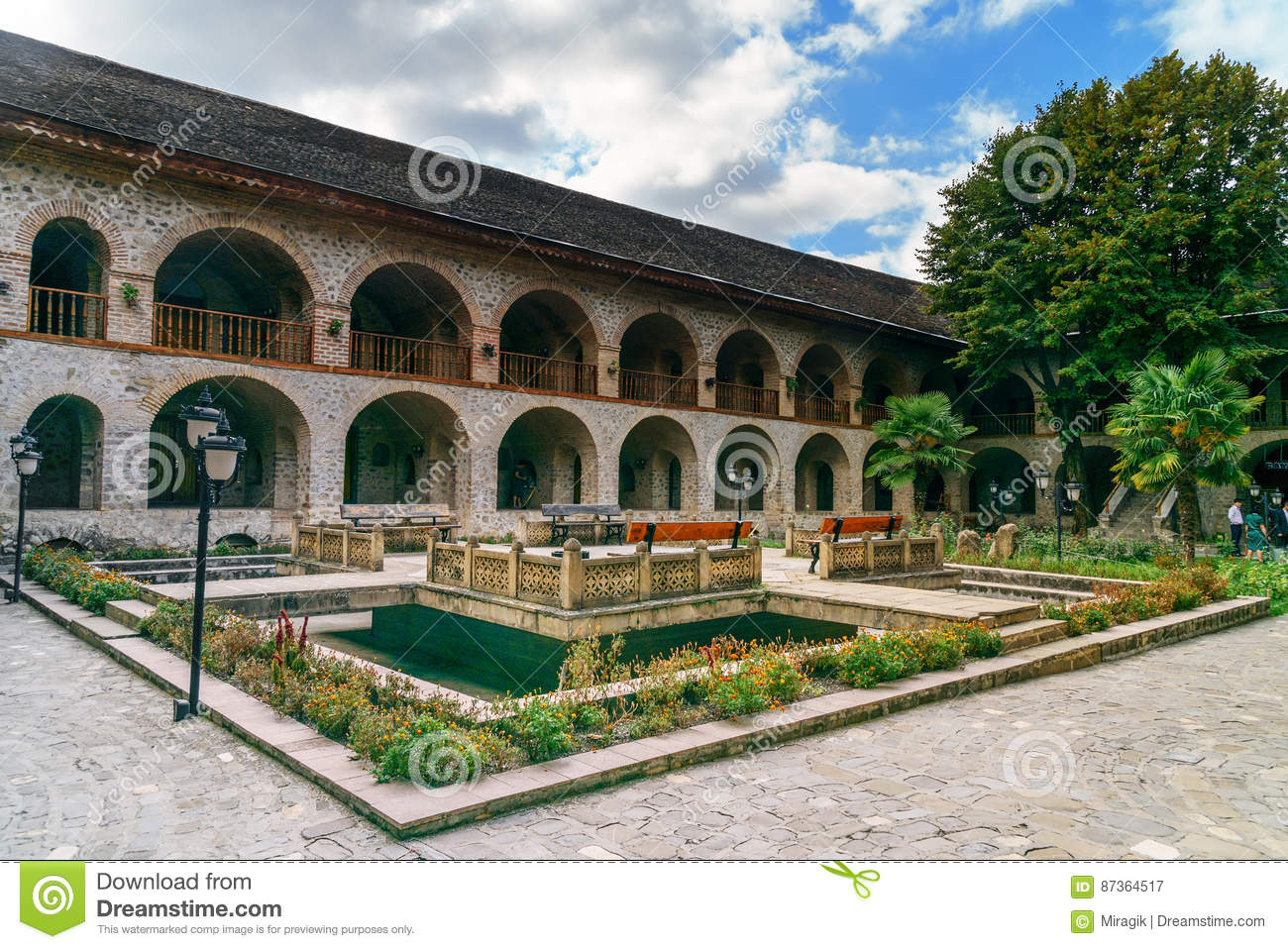 Brilliant  Caravanserai Sheki Is Small City Situated In Northern Azerbaijan In