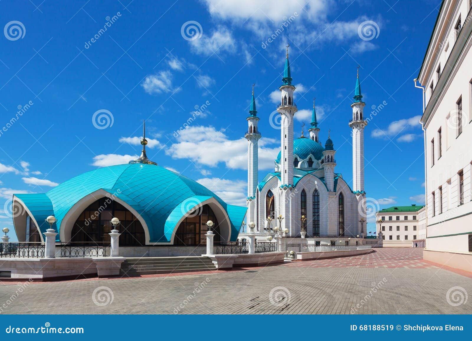 Download View of the Kul Sharif stock image. Image of kazan, kremlin - 68188519