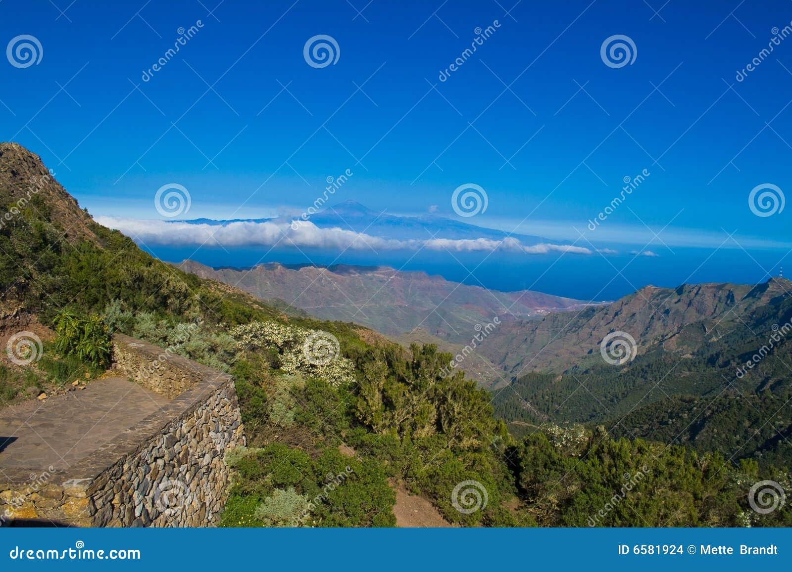 View from La Gomera
