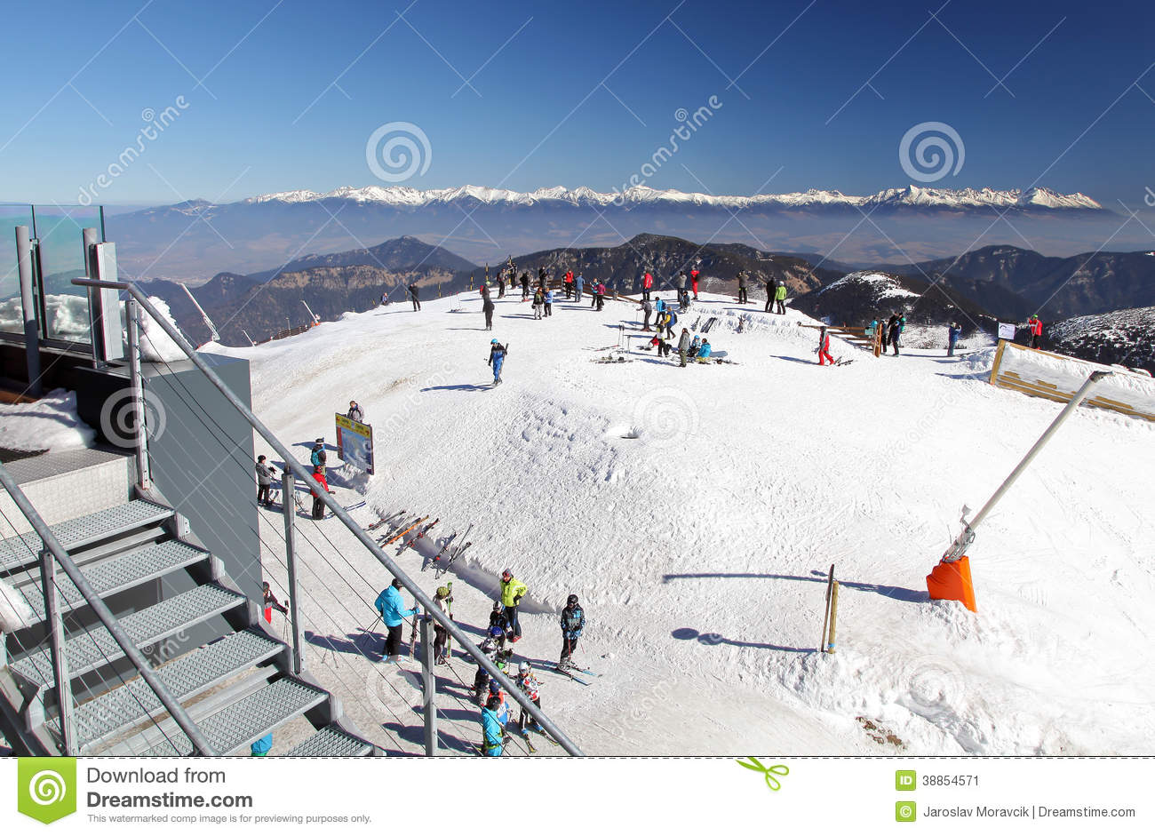 View from low tatras mountains slovakia editorial photo for Moderne skihotels
