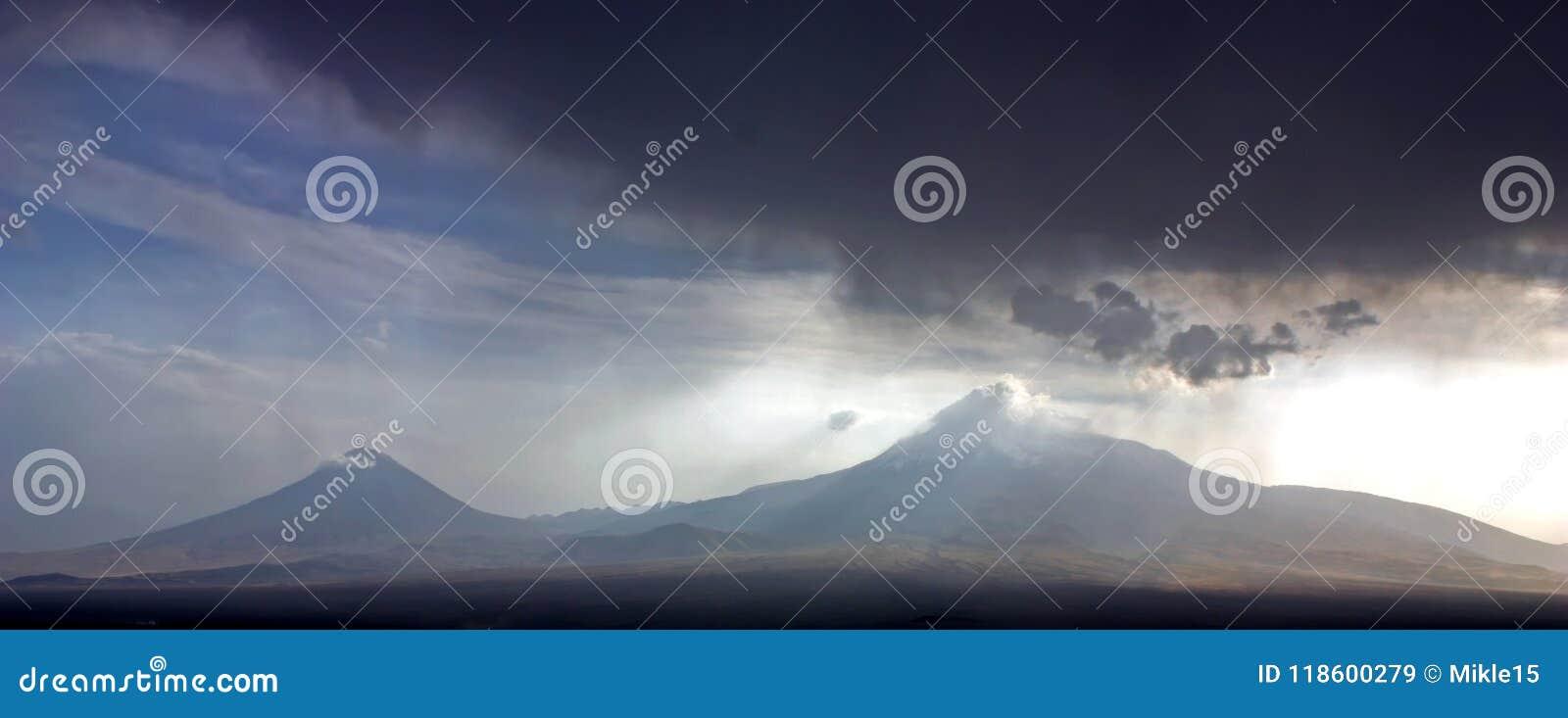 A beautiful view of Mountain Ararat.
