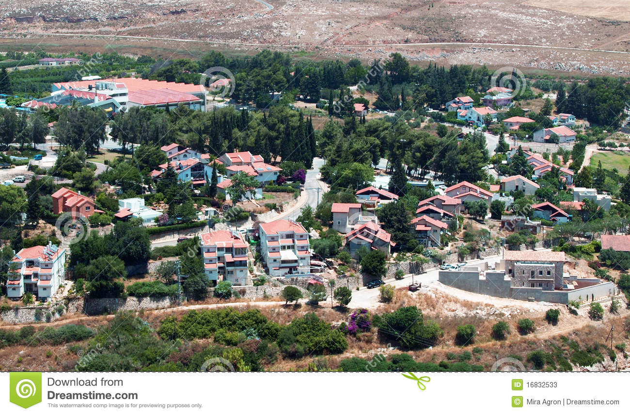 Metula Israel  city pictures gallery : View Of Metula,Israel Stock Photos Image: 16832533