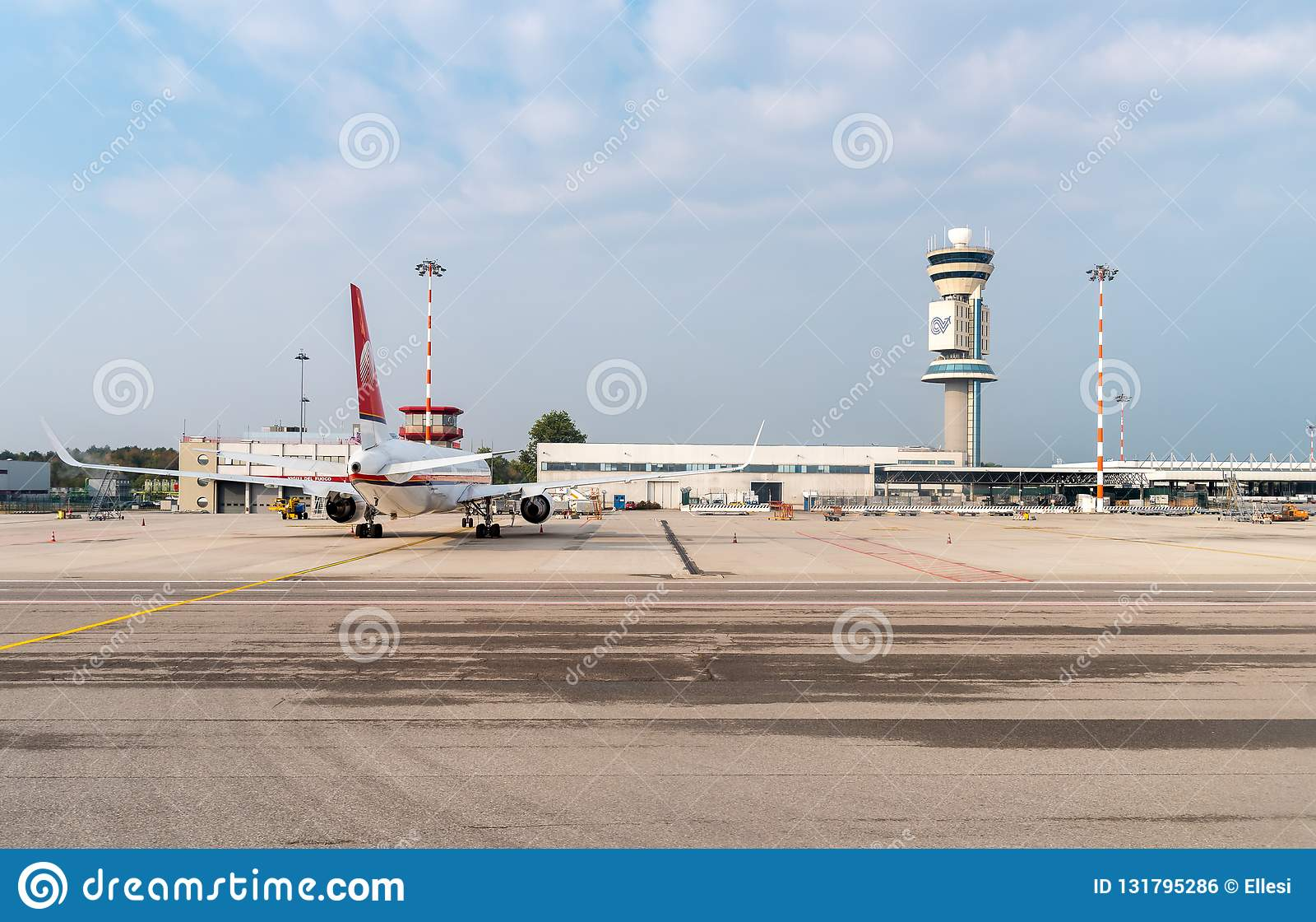 View Of Milan-Malpensa International Airport Terminal 1 ...